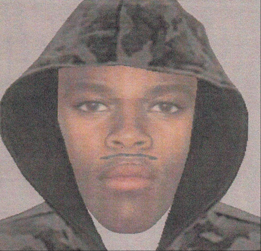 Schaumburg police are circulating this computer-generated likeness of a strong-arm robbery suspect who reportedly stole a woman's necklace outside a condominium building Monday night.