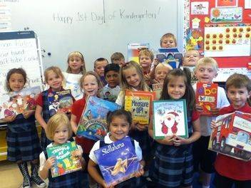 Did you know that all St. Bede School kindergartners are reading by the end of the year?