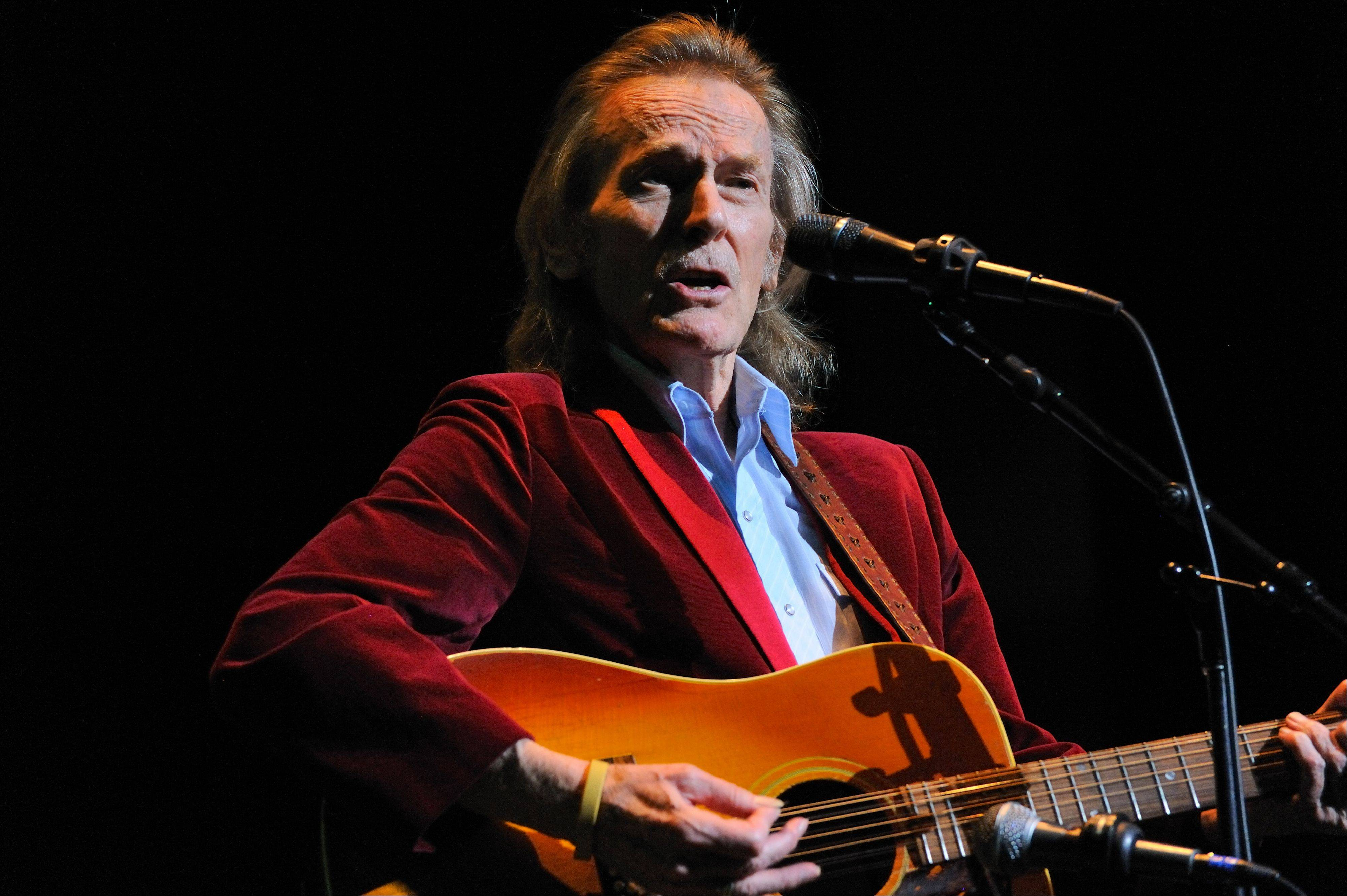 Folk musician Gordon Lightfoot plays the Genesee Theatre on Friday, June 21.