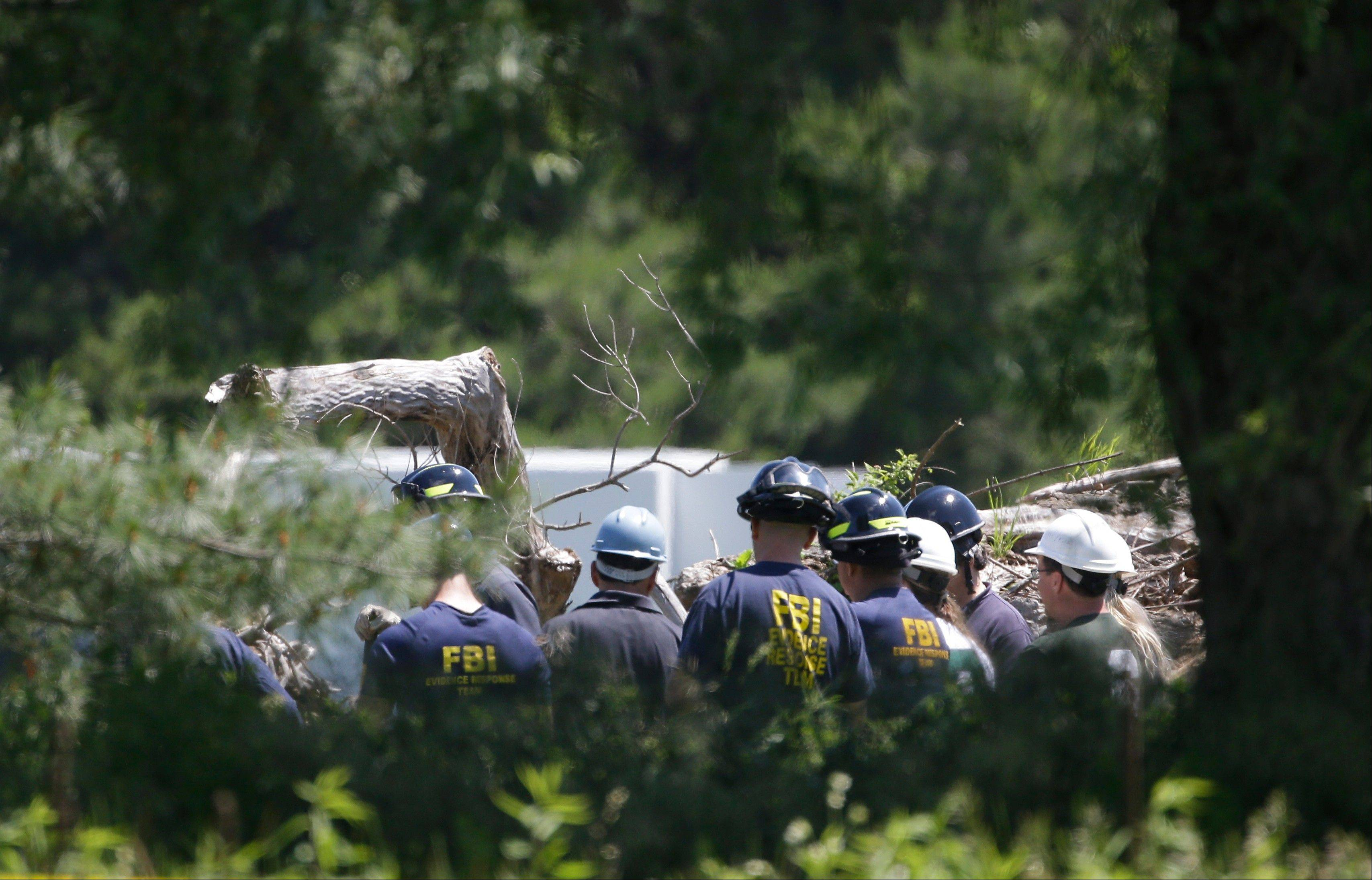 FBI hunt for Hoffa's remains turns up nothing