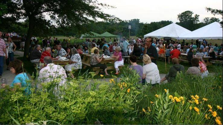 More than 750 guests enjoy beer and wine tastings at Spring Valley Nature Center.