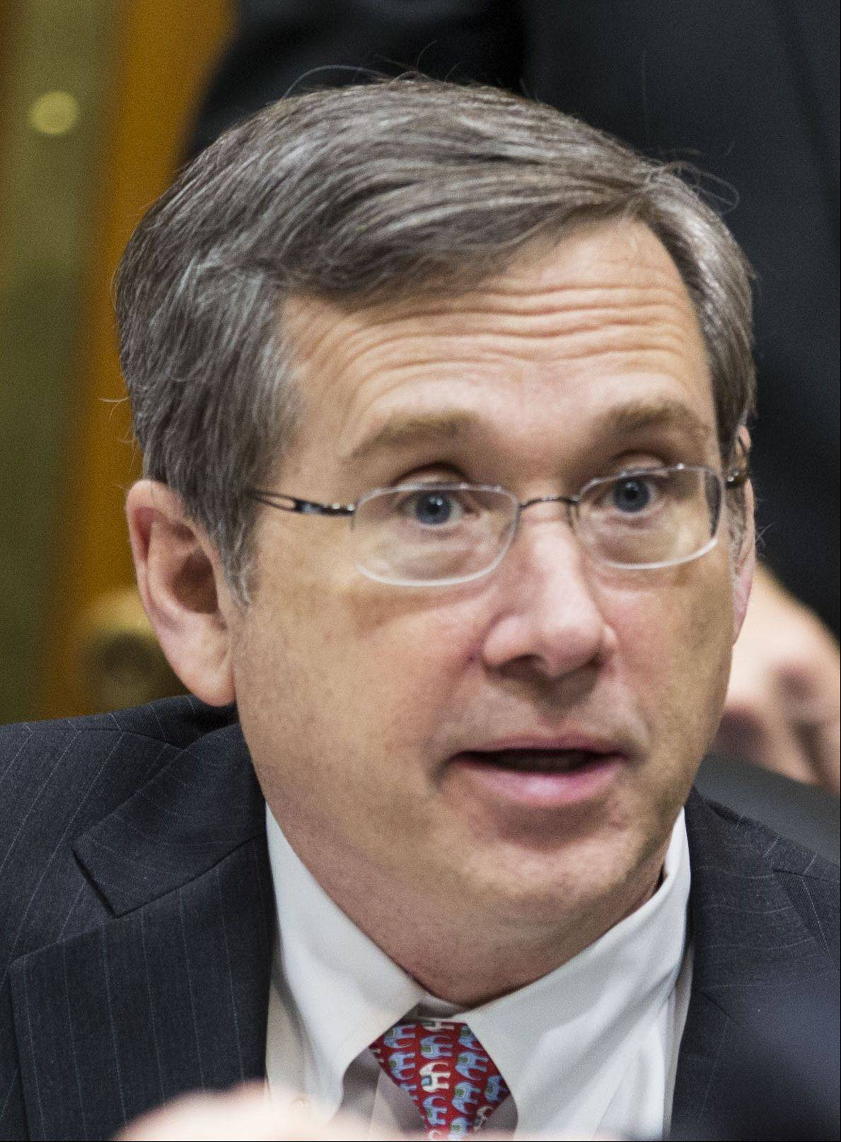 Senator Mark Kirk. 2013 photo