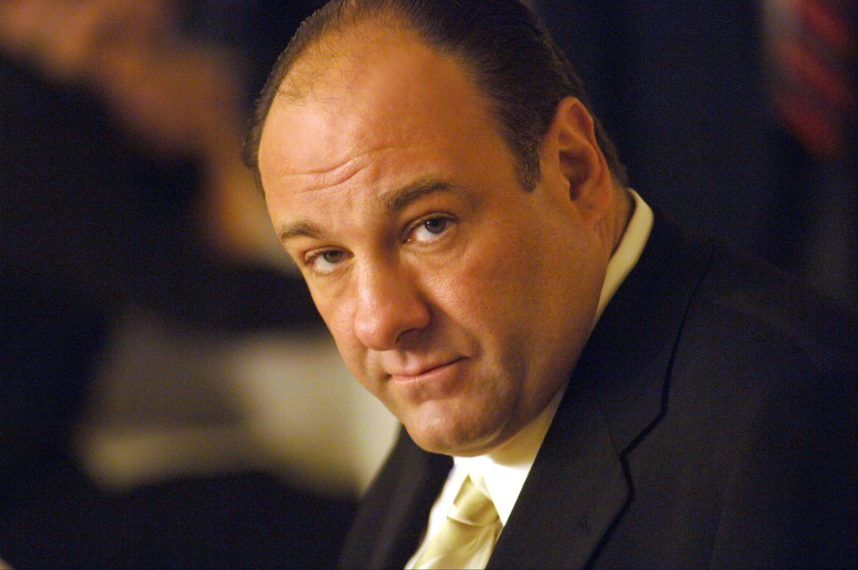 Actor James Gandolfini in his role as Tony Soprano. The actor died Wednesday, June 19, 2013, in Italy. He was 51.