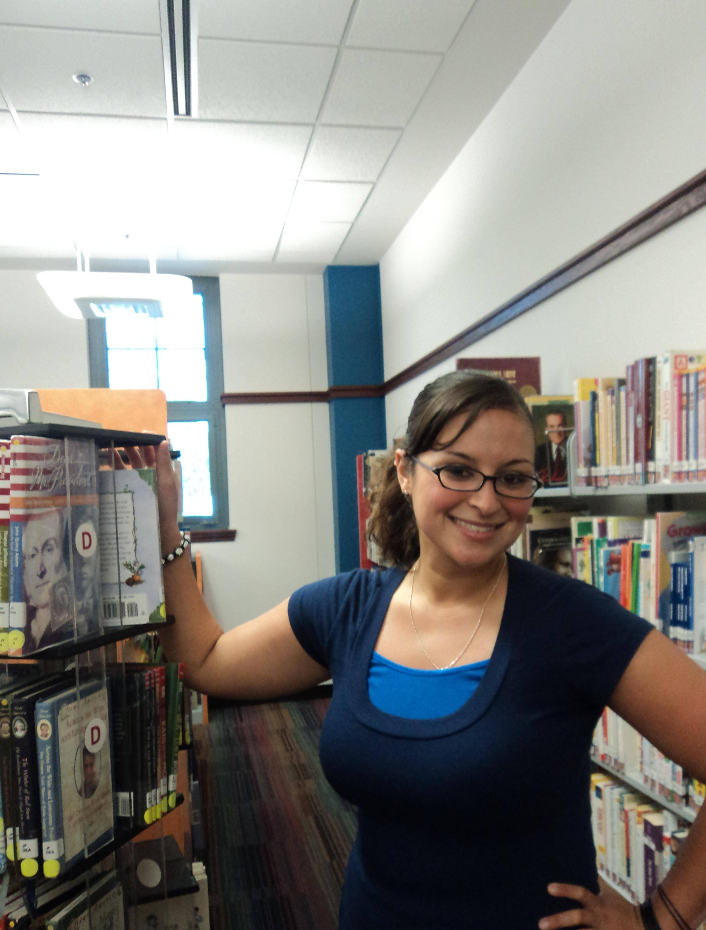Dominique Roman is a Youth Services Librarian at the West Chicago Public Library District.