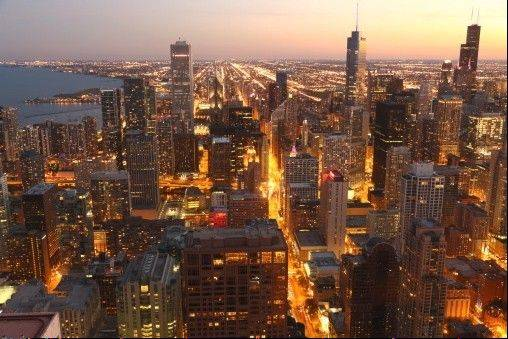 Chicago hotels continue to enjoy near-record occupancy, and Mayor Rahm Emanuel says it's a positive sign tourism is up in the nation's third-largest city.