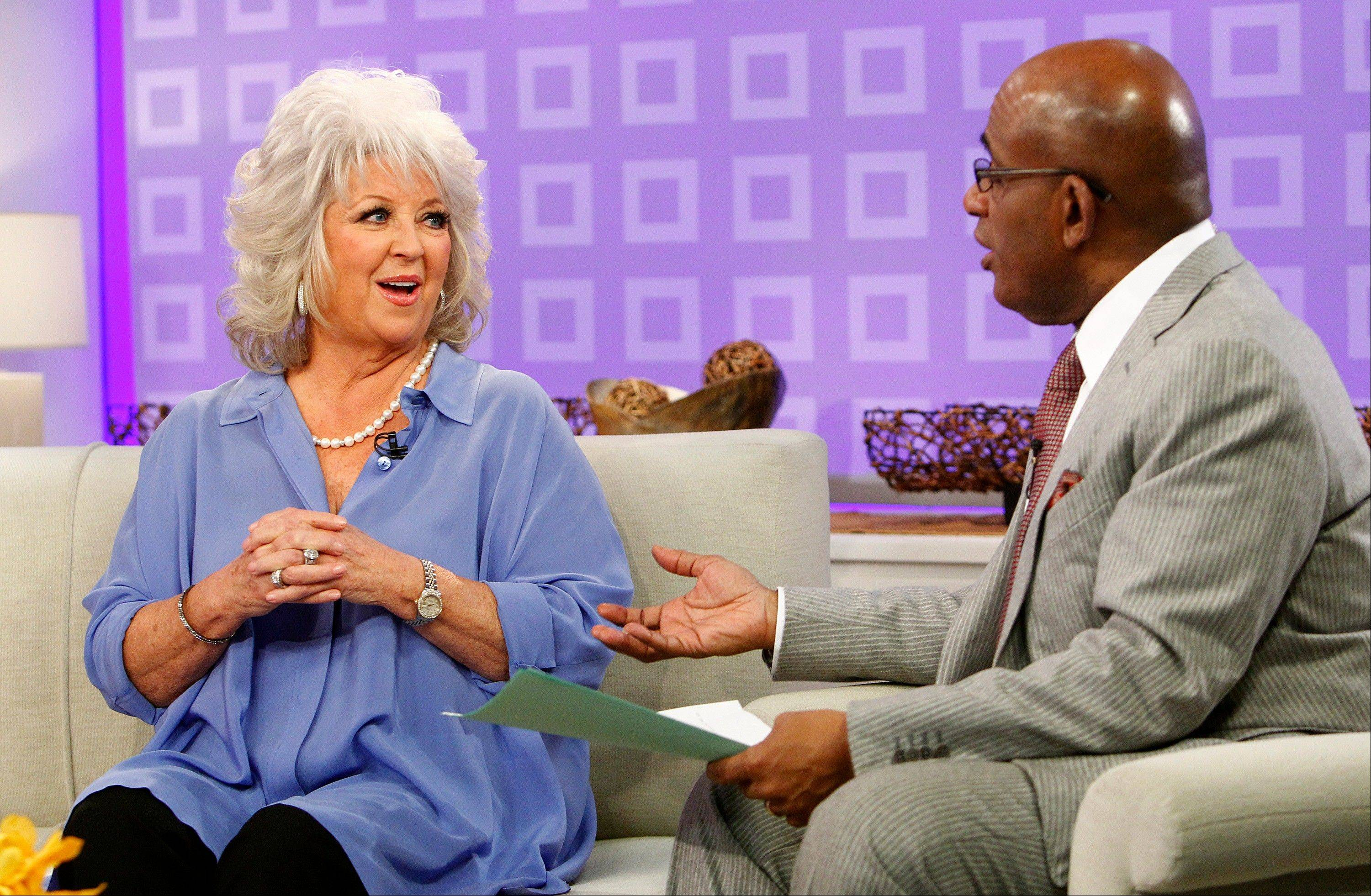 "Celebrity chef and TV personality Paula Deen, seen here with co-host Al Roker last year, was a no-show on Friday's ""Today"" show where she was scheduled to appear to answer questions about past use of racial slurs."