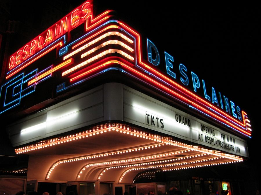 The Des Plaines Theatre had a big reopening November 2011 after two years of renovations, and it's struggled to stay open consistently since.