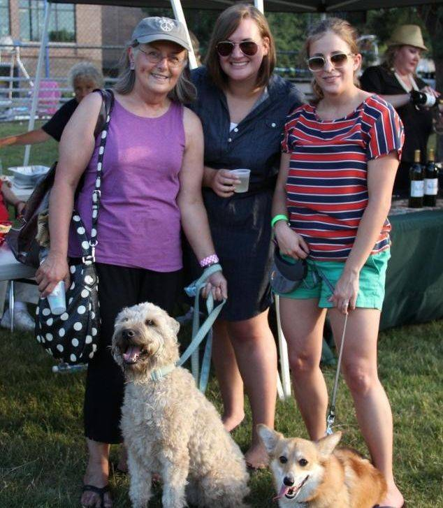 Tasty wine and cute pups are featured at a unique happy hour June 28 at Meineke Park, in Schaumburg.