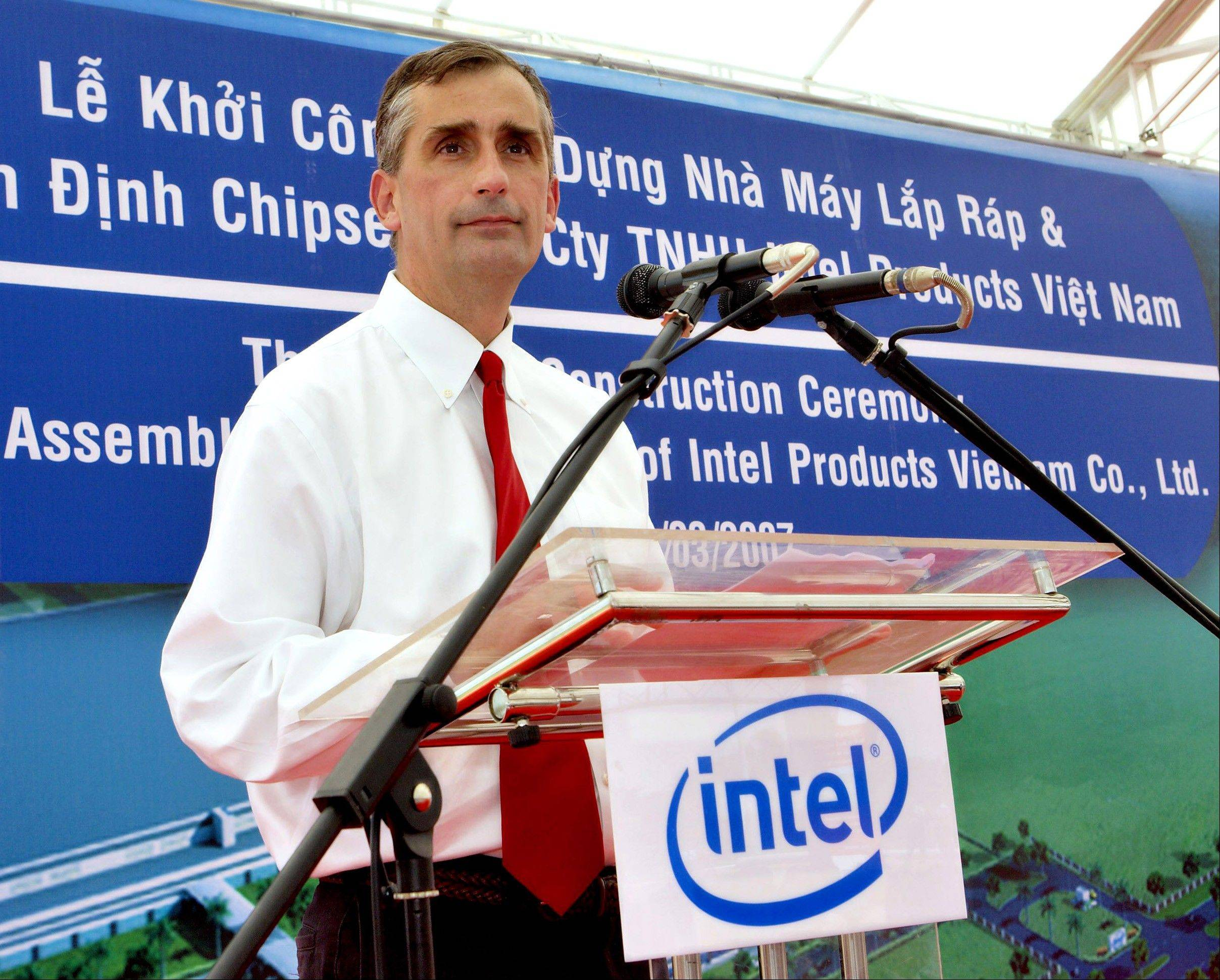 Intel Corp CEO Brian Krzanich is pushing to bring new products to market more quickly and then update to refine them.
