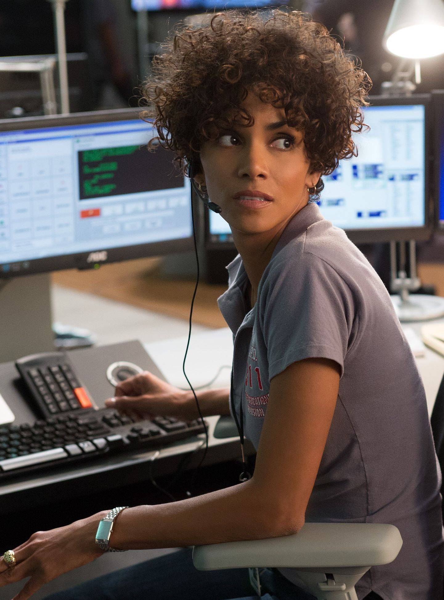 "Halle Berry plays a 911 operator in the thriller ""The Call."""