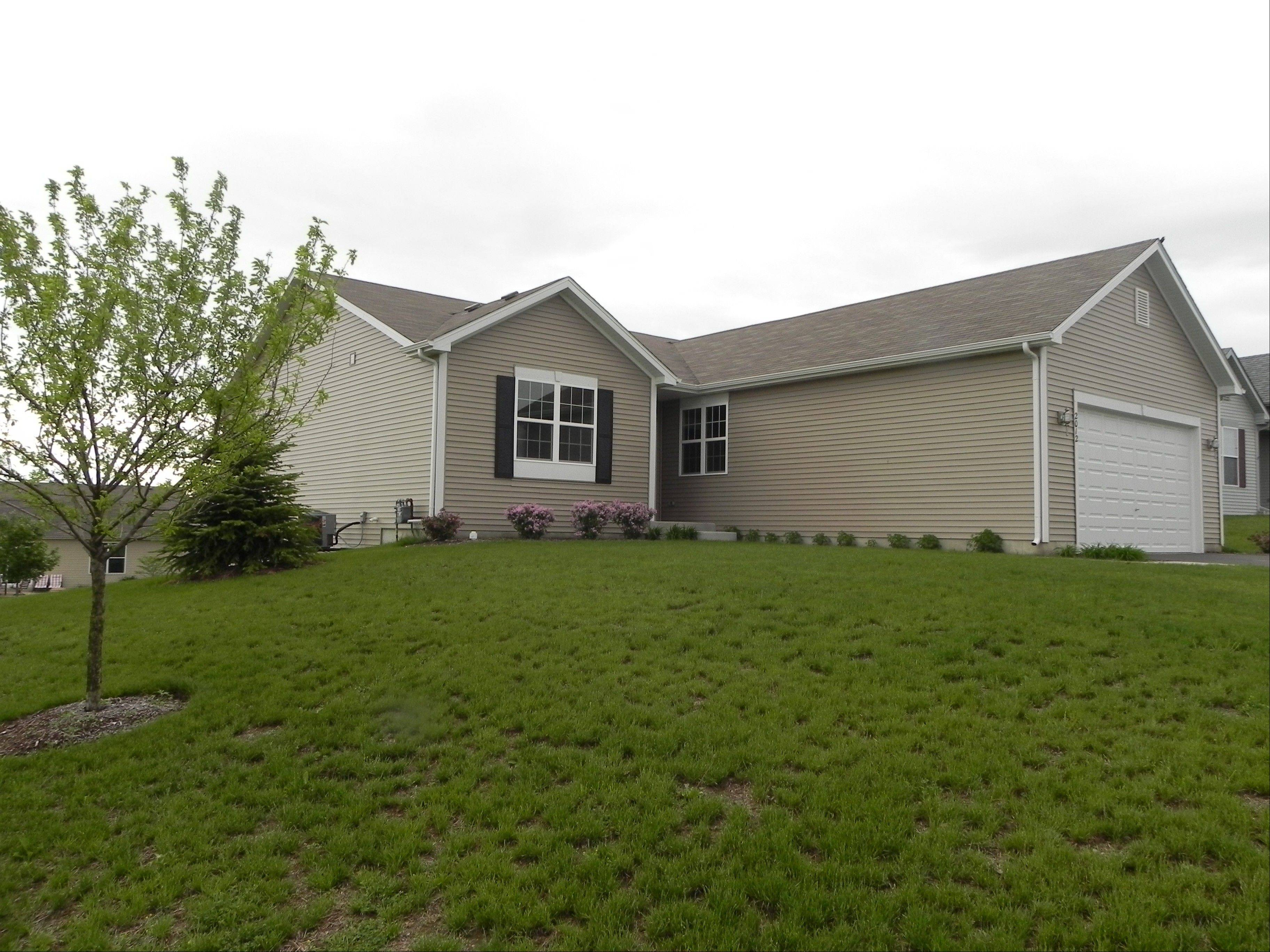 Gerstad Builders has a ranch home like this one in McHenry ready for a quick move.
