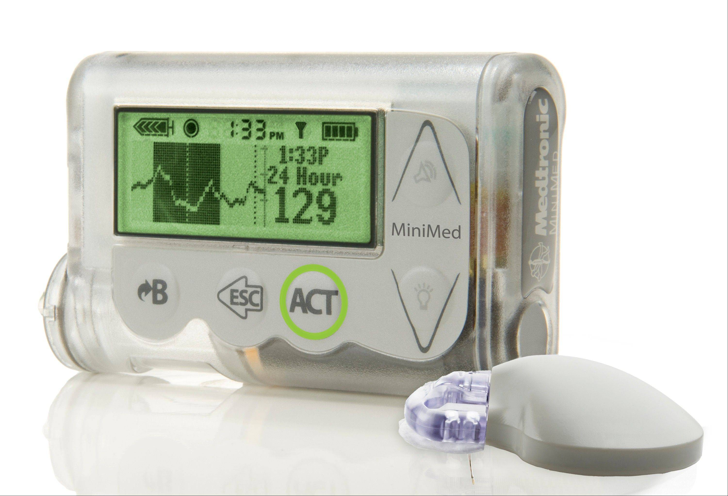 "Updated at the American Diabetes Association conference in Chicago was the MiniMed Integrated System device, which doctors are reporting as a major step toward an ""artificial pancreas."" The device constantly monitors blood sugar and automatically supplies insulin as needed."