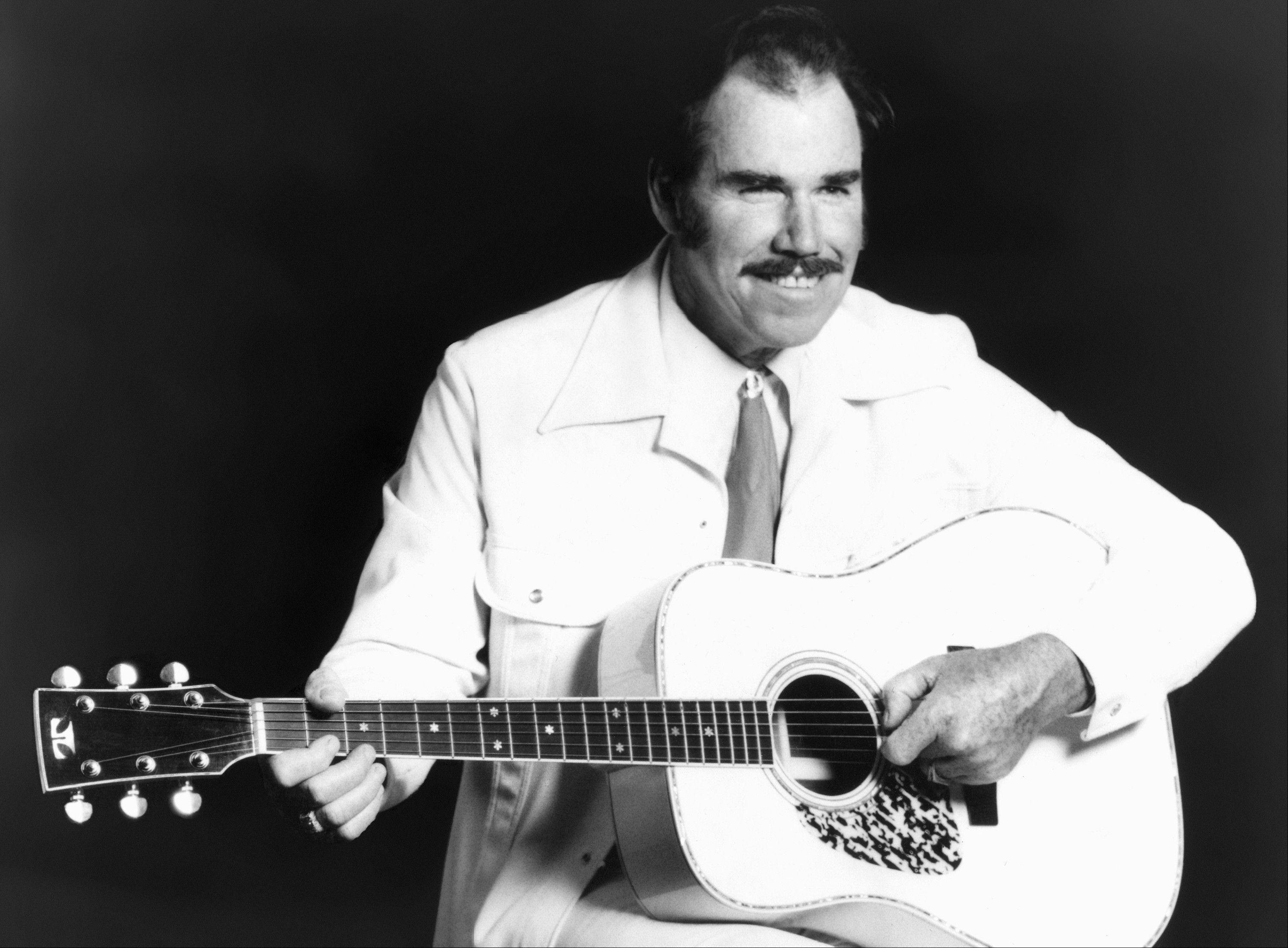 Country singer Slim Whitman.