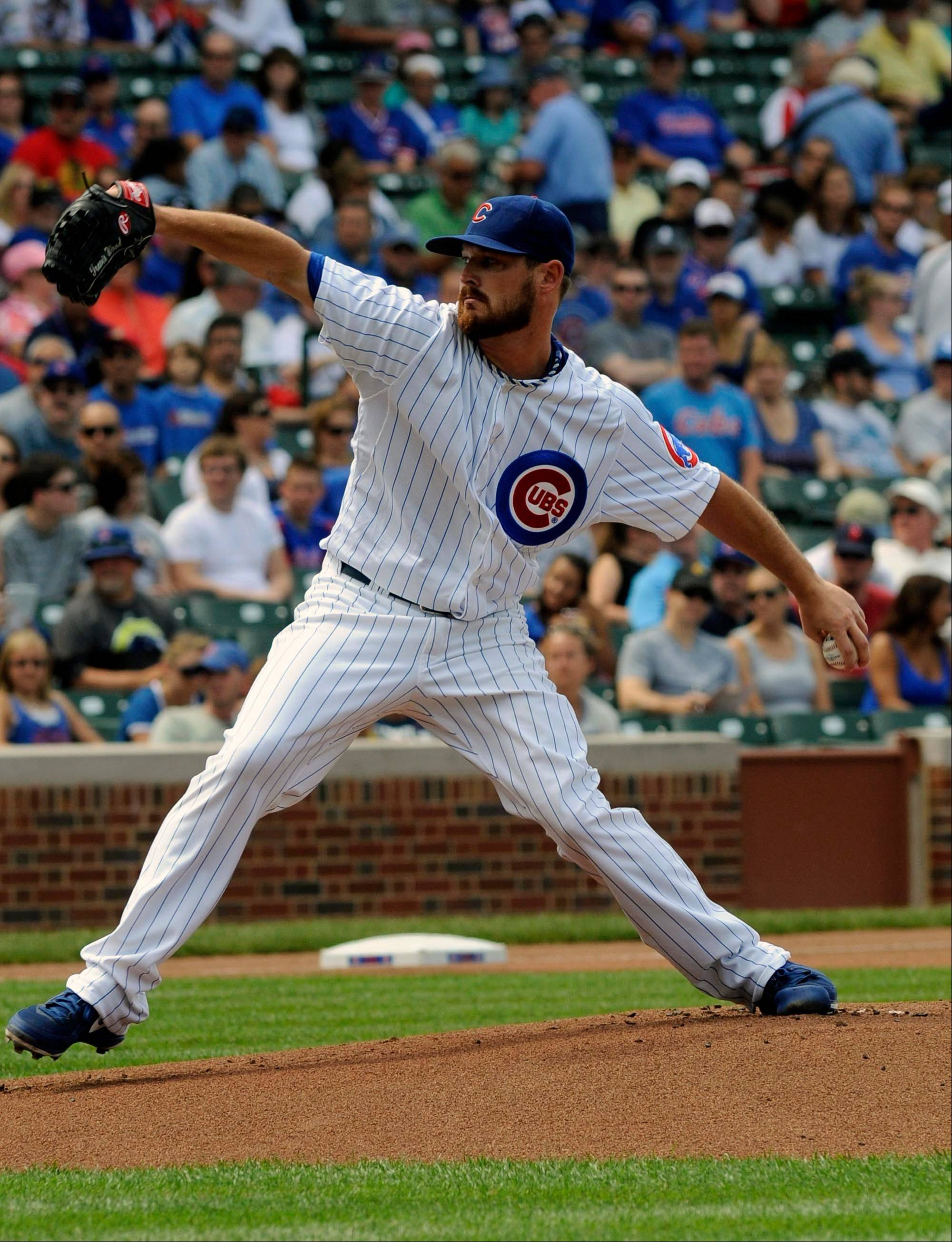 Cubs pitcher Travis Wood recorded his major-league best 14th quality start, but he allowed a 3-run homer in the sixth and was not involved in the decision. Despite an ERA of 2.85, Wood has not won since May 30.
