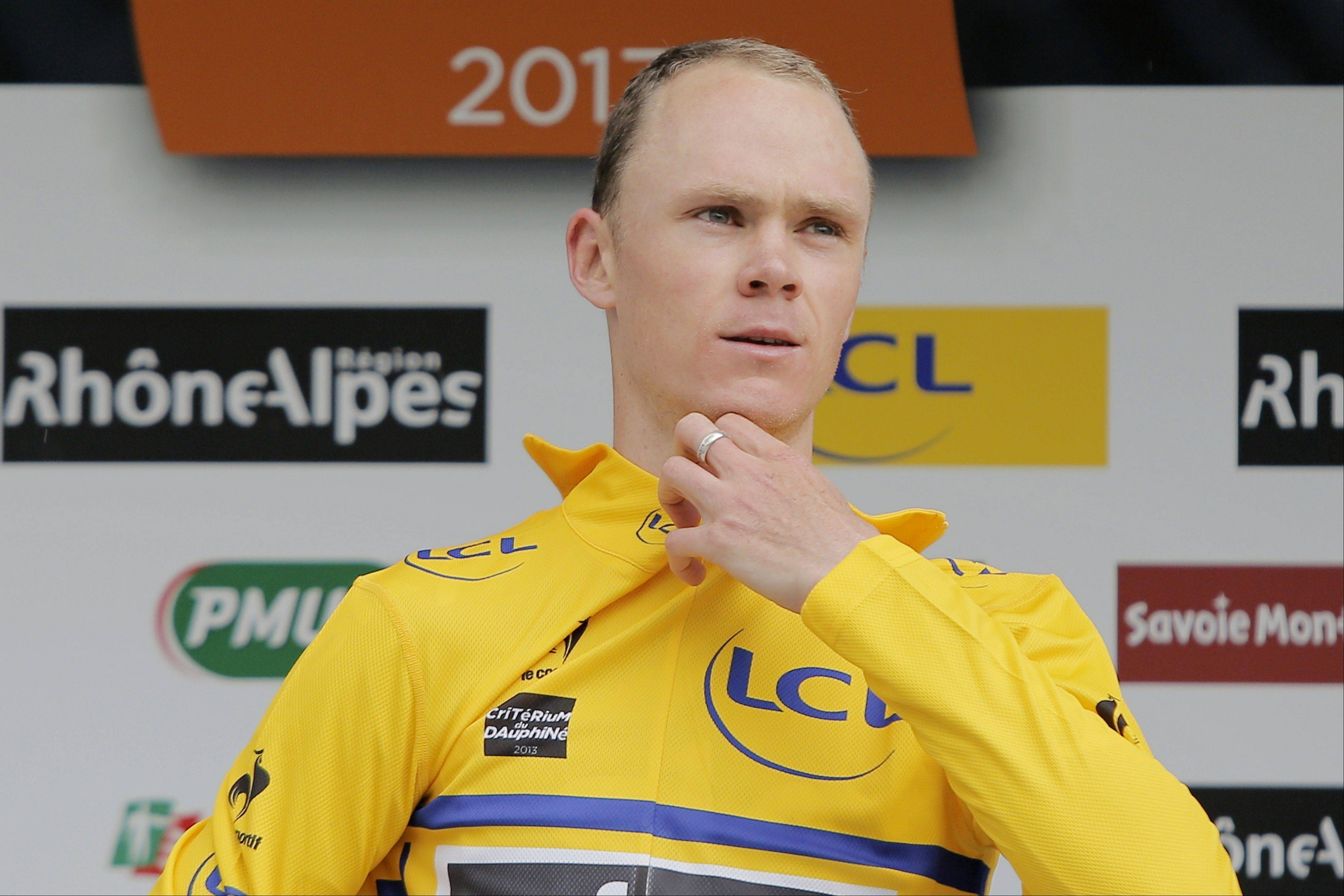 Chris Froome is the heir apparent to 2012 Tour de France champ Bradley Wiggins on Team Sky.