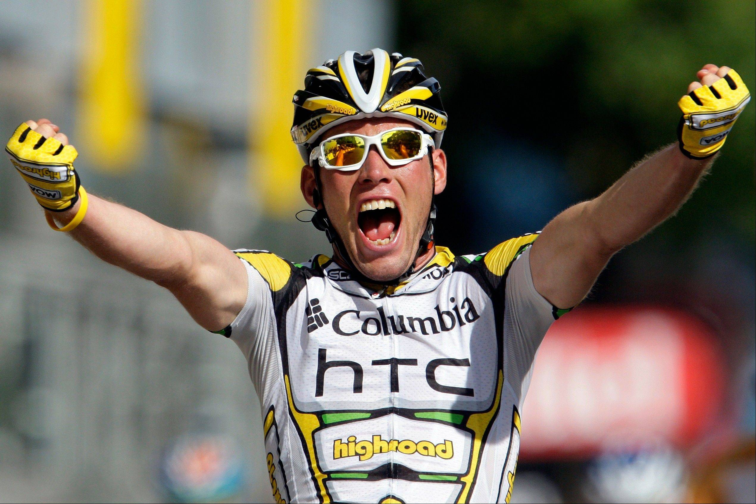 Mark Cavendish is always a favorite to win sprint stages.