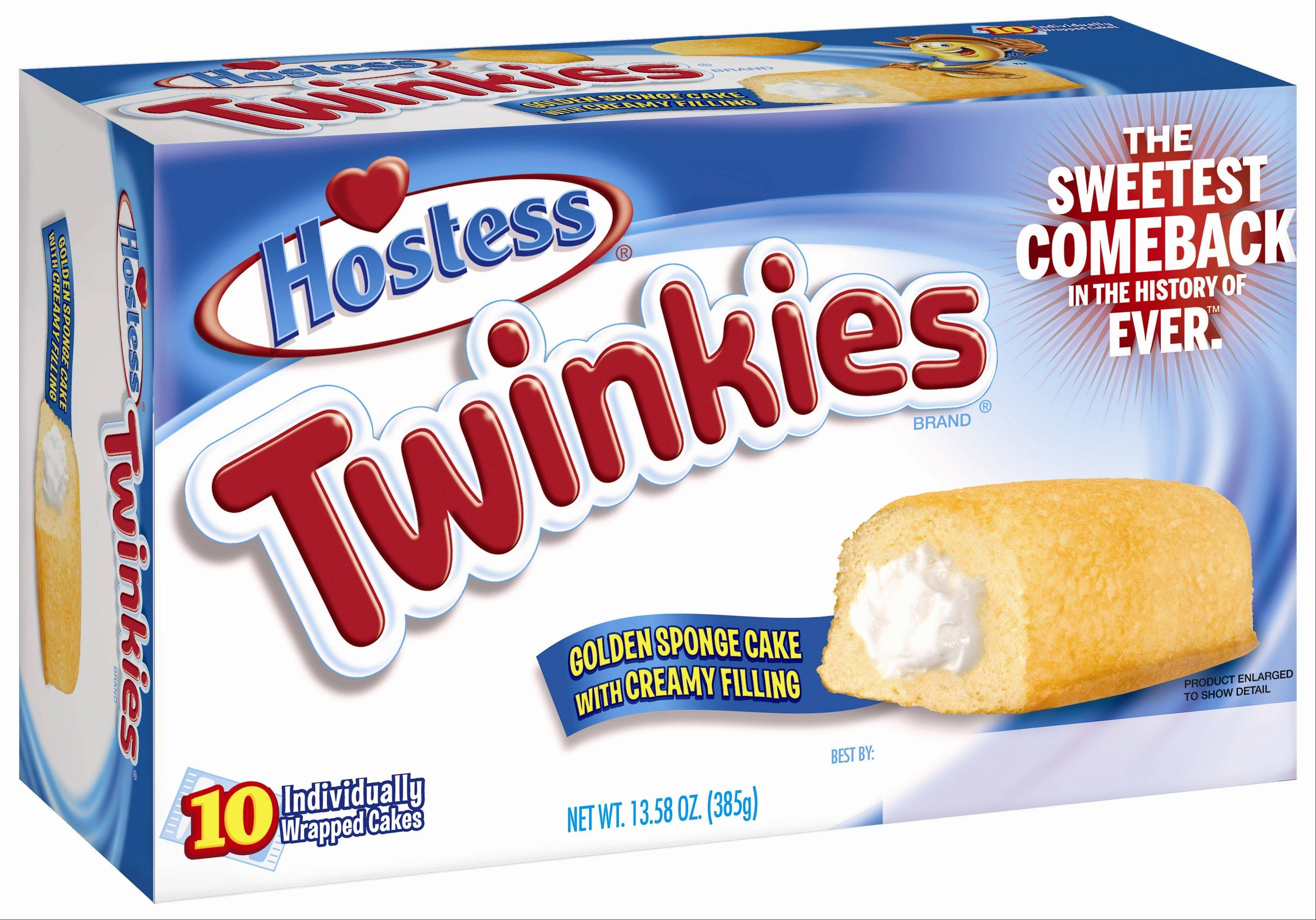 Twinkies will be back on shelves by July 15, 2013, after its predecessor company went bankrupt after an acrimonious fight with unions last year. The brands have since been purchased by Metropoulos & Co. and Apollo Global Management.