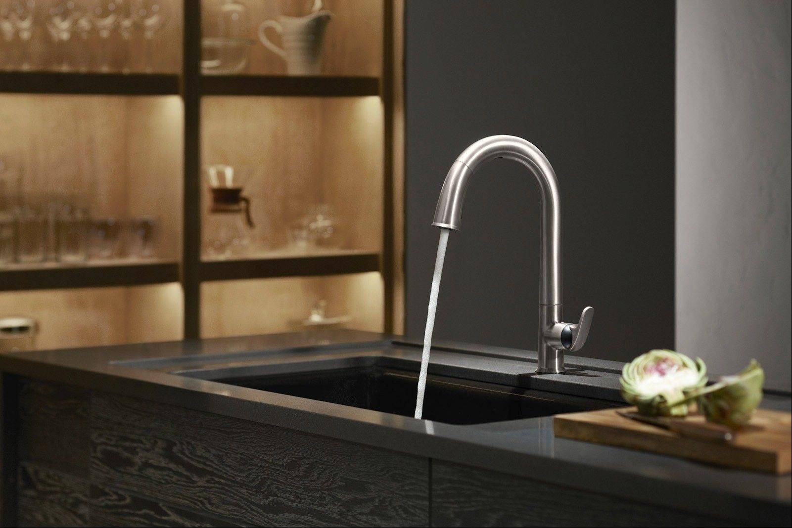 "Homeowners are giving ""touchless"" kitchen faucets a big thumbs up."
