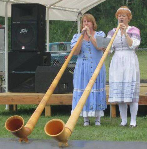 The Edelweiss Alphorns will perform during the Northwoods Heritage Event in Three Lakes, Wis. There also will be a Lumberjack Show and activities for the kids.