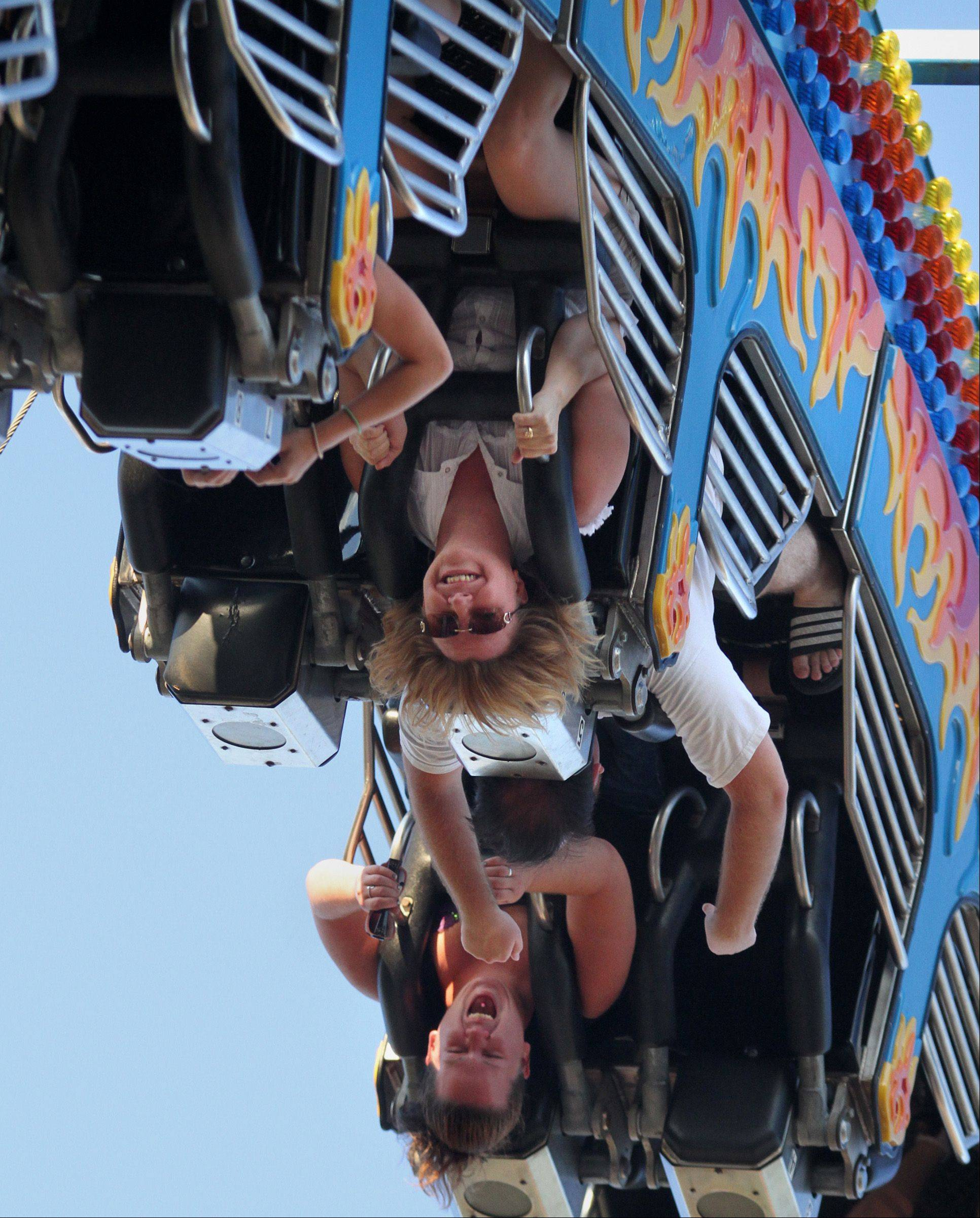 Take a spin on some carnival rides at the annual Wauconda Fest in Wauconda.