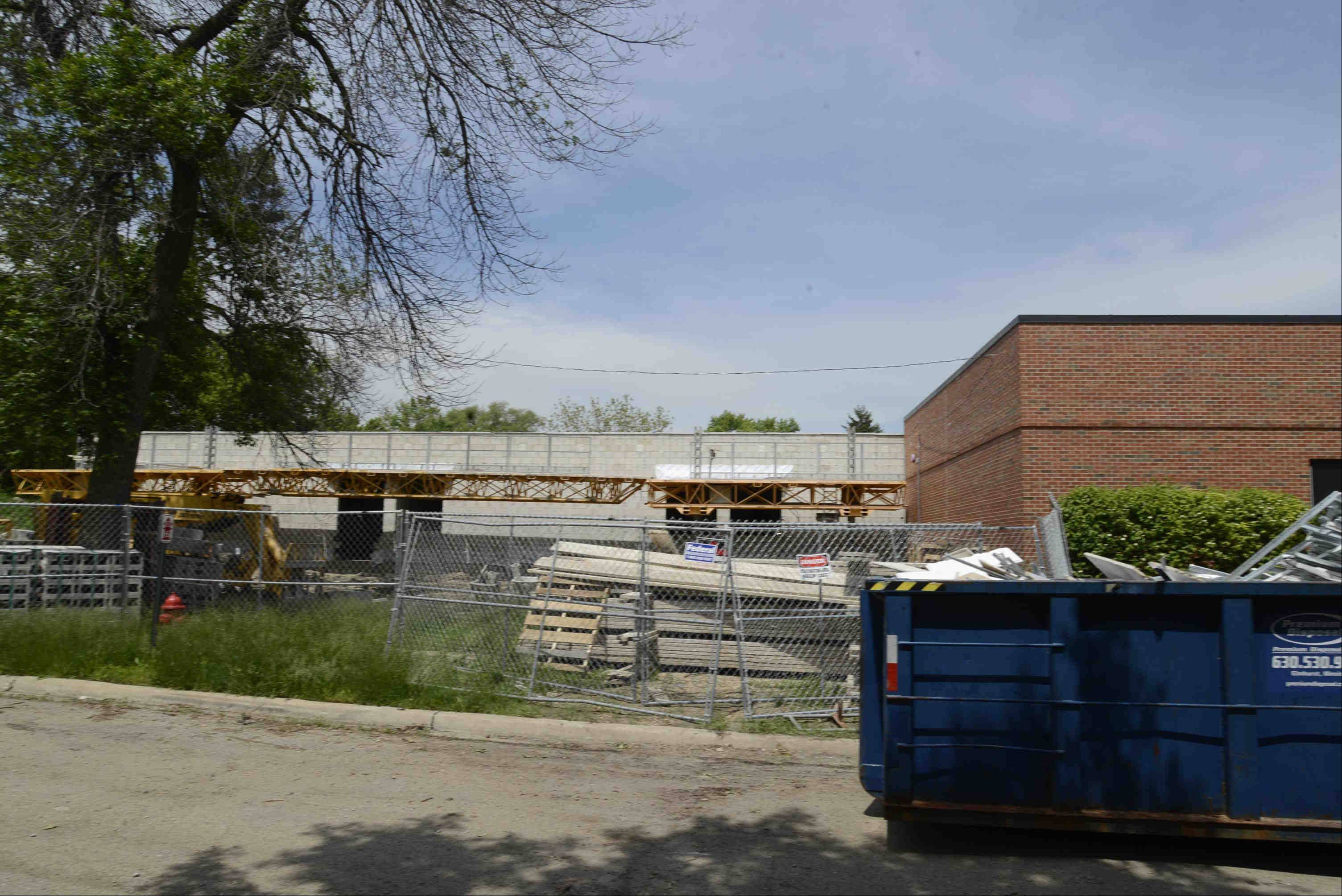 Ontarioville Elementary School in Hanover Park is getting five additional classrooms as part of a $3.5 million construction project this summer. But some say students could be moved to a school two miles away that is about half full.