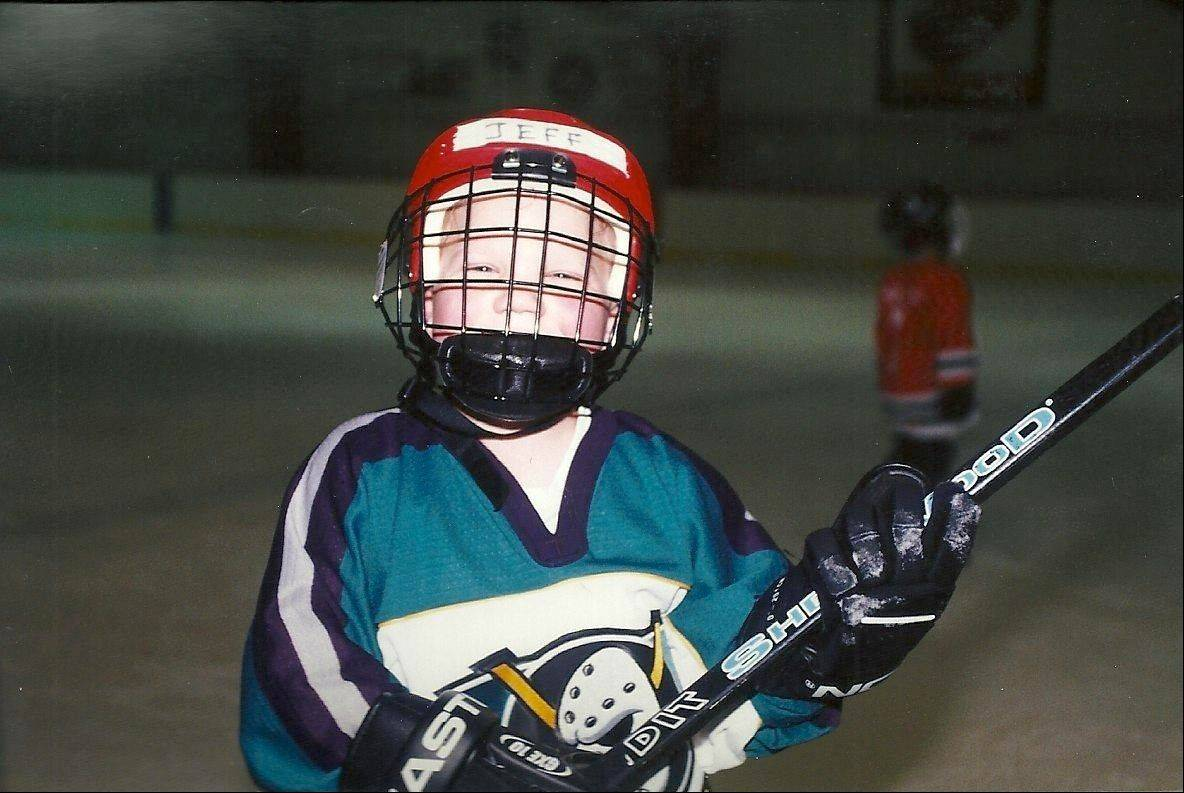 Jeffrey Pride was thrilled by the chance to play hockey.