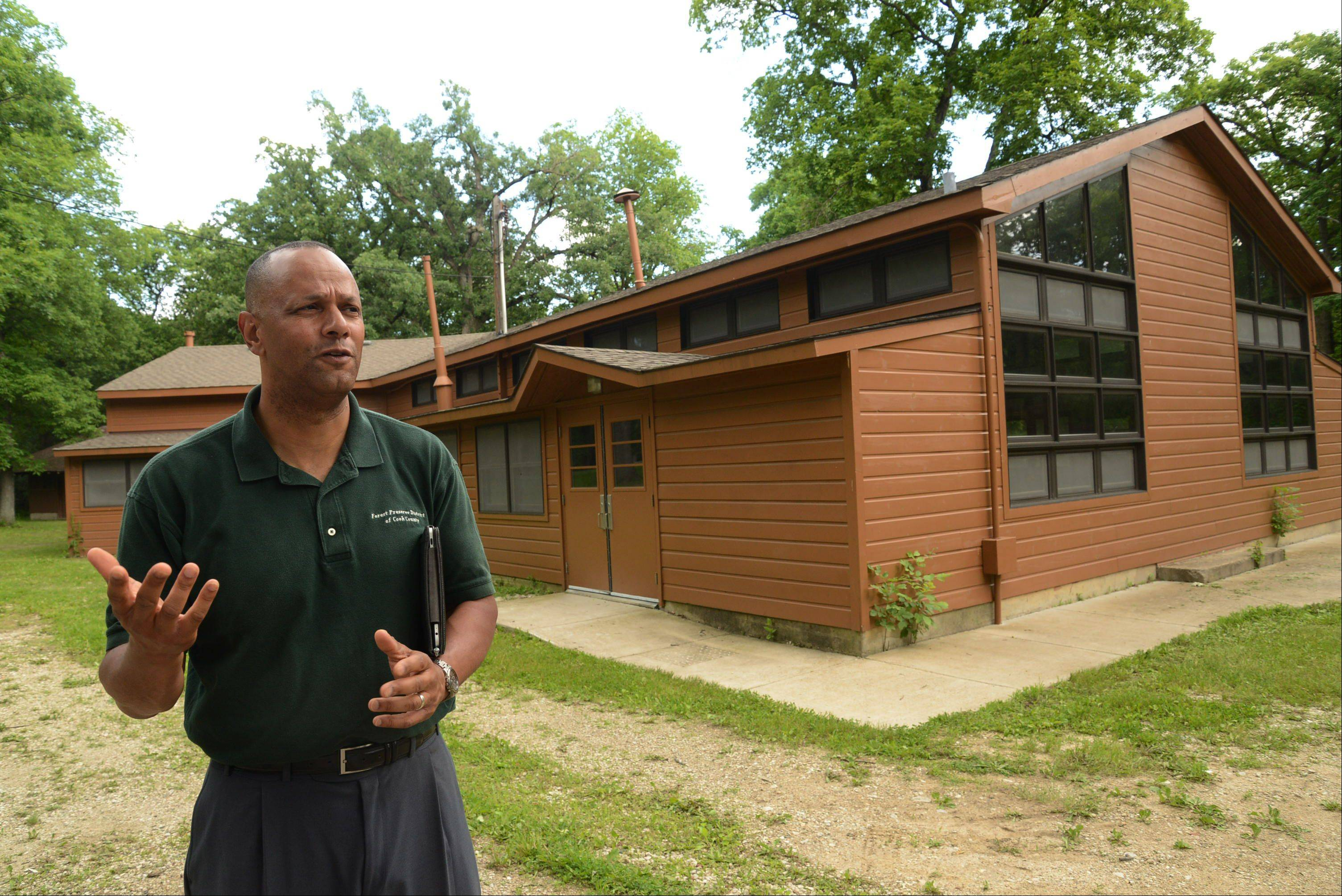 Arnold Randall, superintendent of the Forest Preserve District of Cook County, talks about his vision to improve Camp Reinberg in Palatine and other county forest preserves in the Northwest suburbs.
