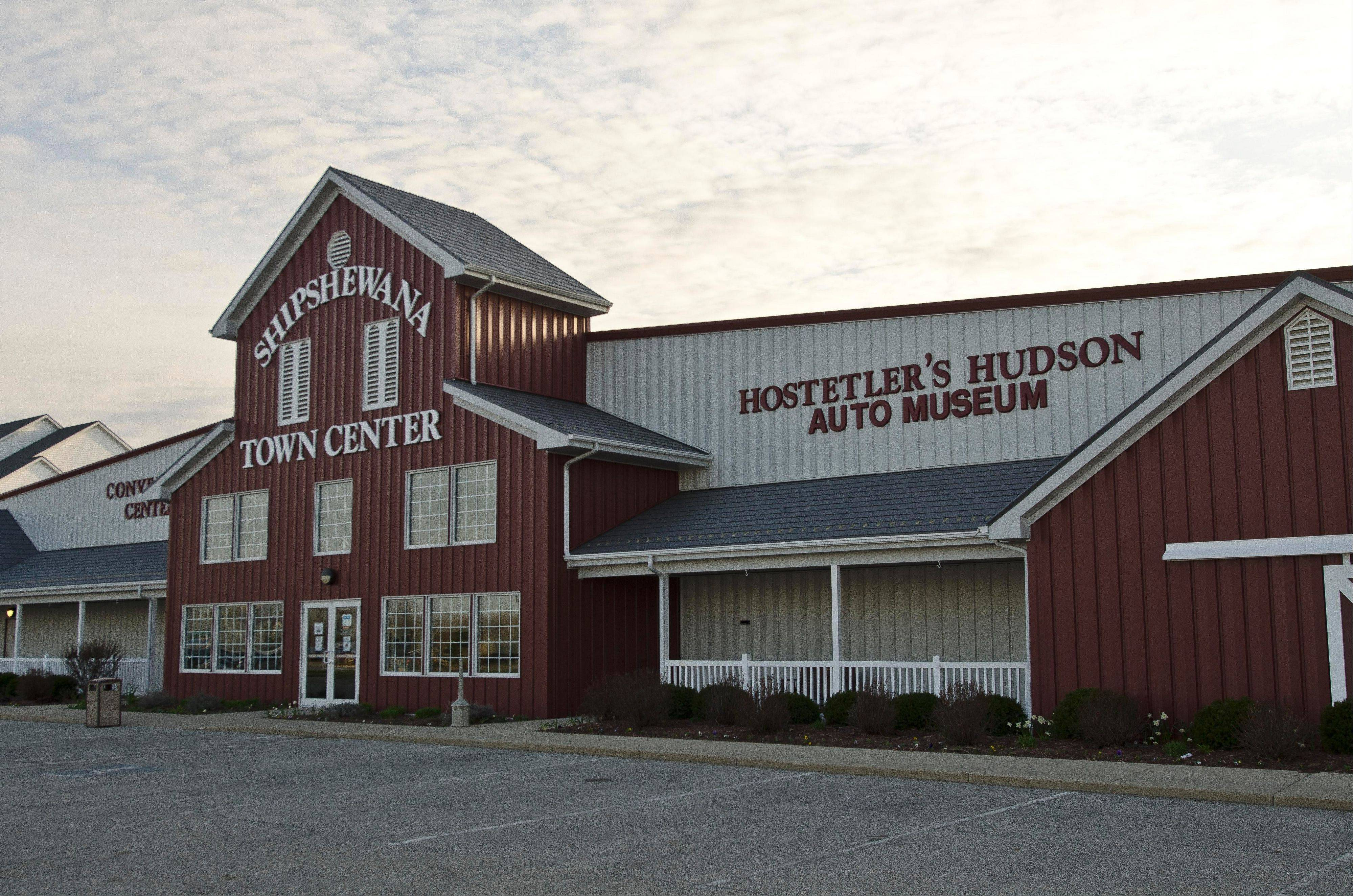 The Hostetler family worked with the town of Shipshewana, Ind., to build the museum and town center.