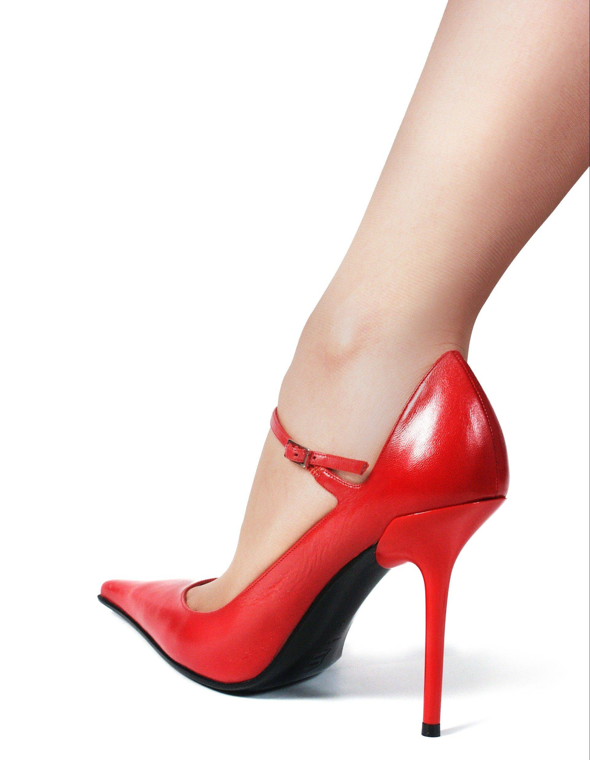 Many foot problems can be attributed to regularly wearing high heels, podiatrists warn.