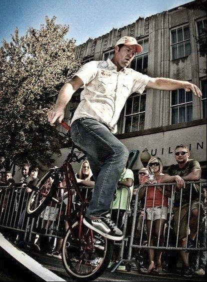 There are six chances to see the King BMX Stunt Show this weekend at MB Financial Park at Rosemont.