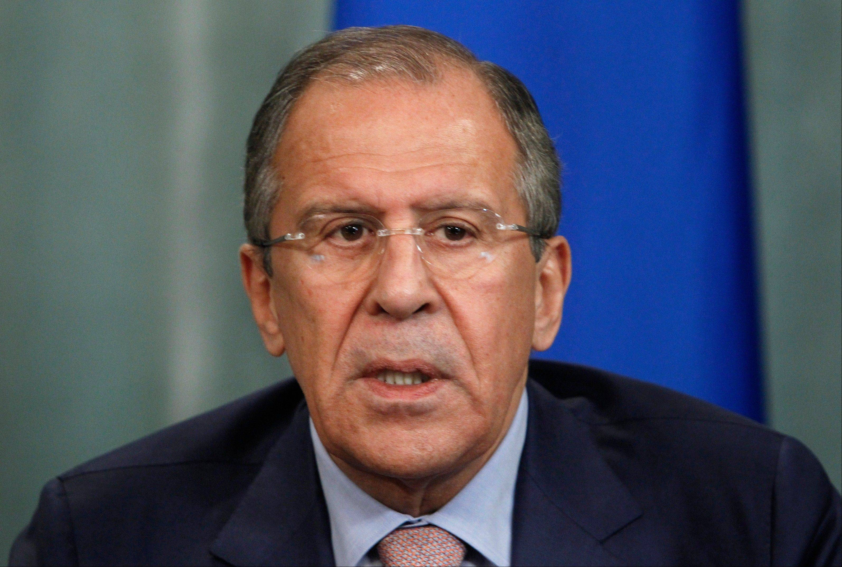 Russia�s Foreign Minister Sergey Lavrov on Tuesday bluntly rejected U.S. demands to extradite National Security Agency leaker Edward Snowden, saying Snowden hasn�t crossed the Russian border as he seeks to evade prosecution.