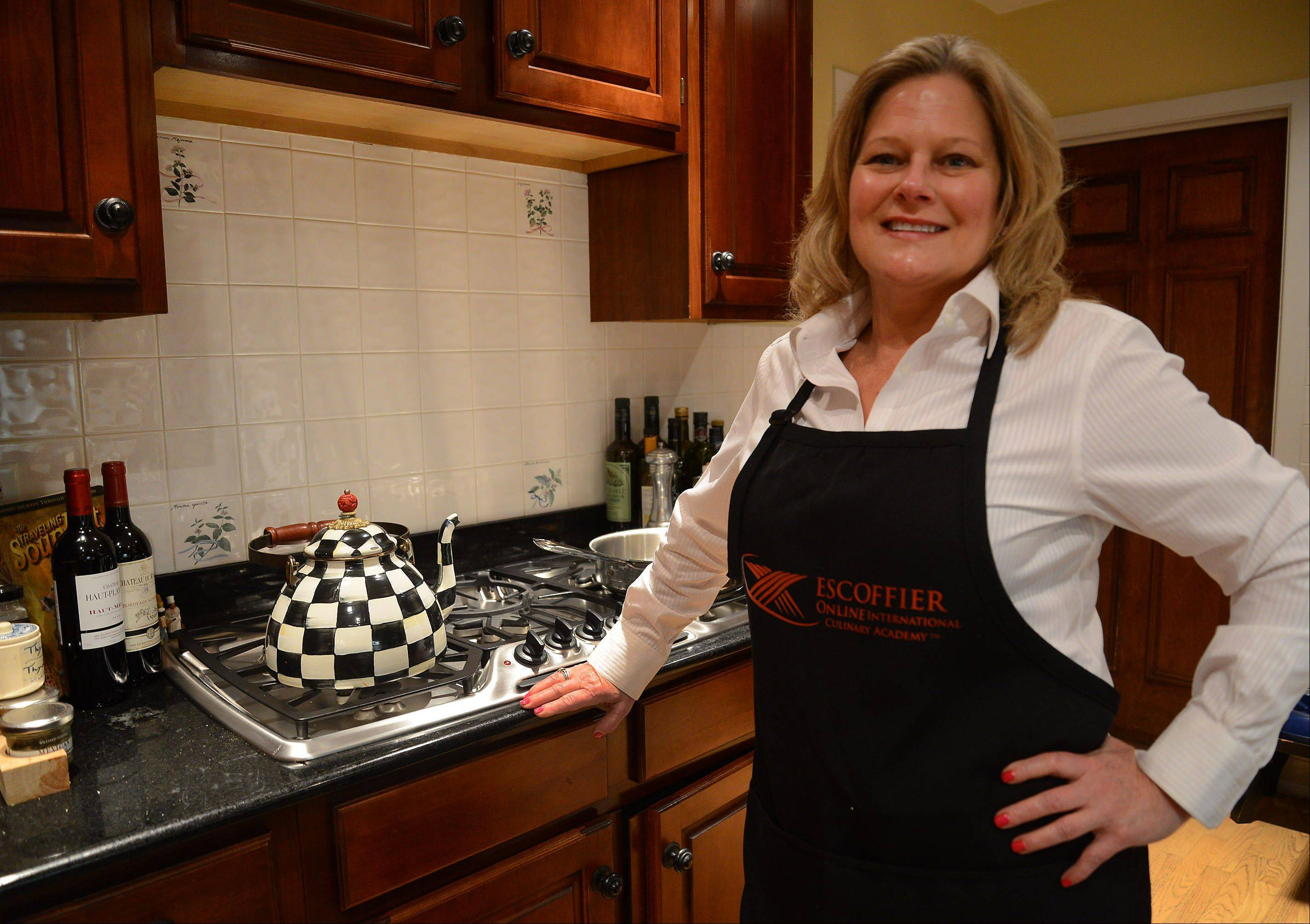 Anne Gulotta honed her kitchen skills with the Escoffier Online International Culinary Academy. She plans to brush up on baking next.