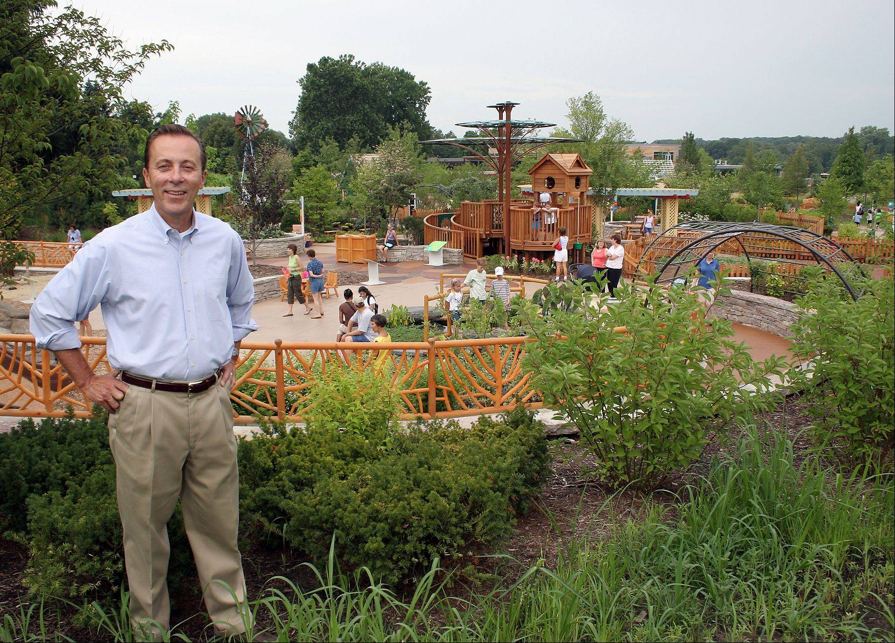 Gerard Donnelly, president and CEO of the Morton Arboretum in Lisle, is the 2013 recipient of the most prestigious honor conferred by the American Public Gardens Association.