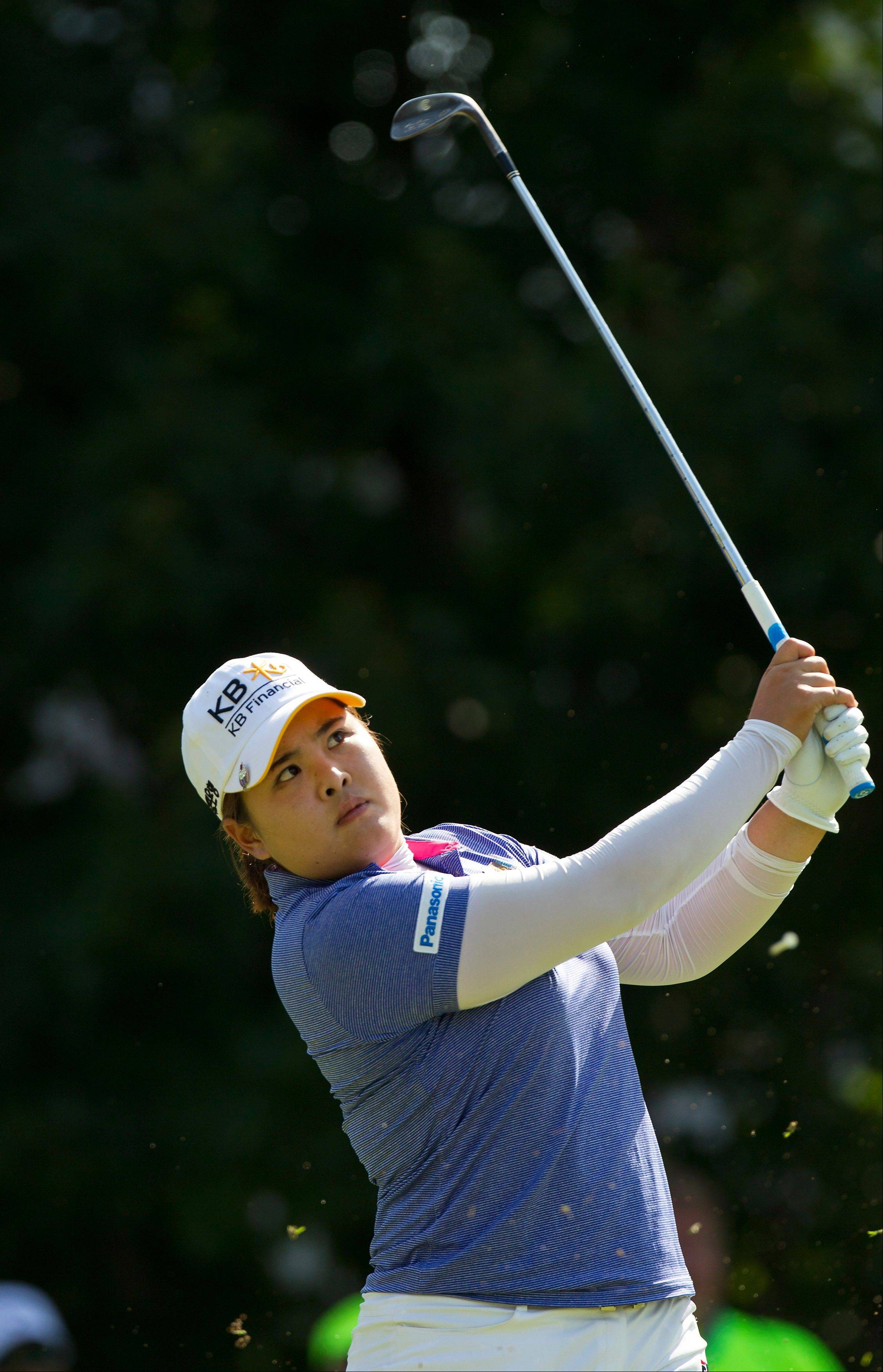 Inbee Park of South Korea will be going for her third straight major at this week's U.S. Women's Open.