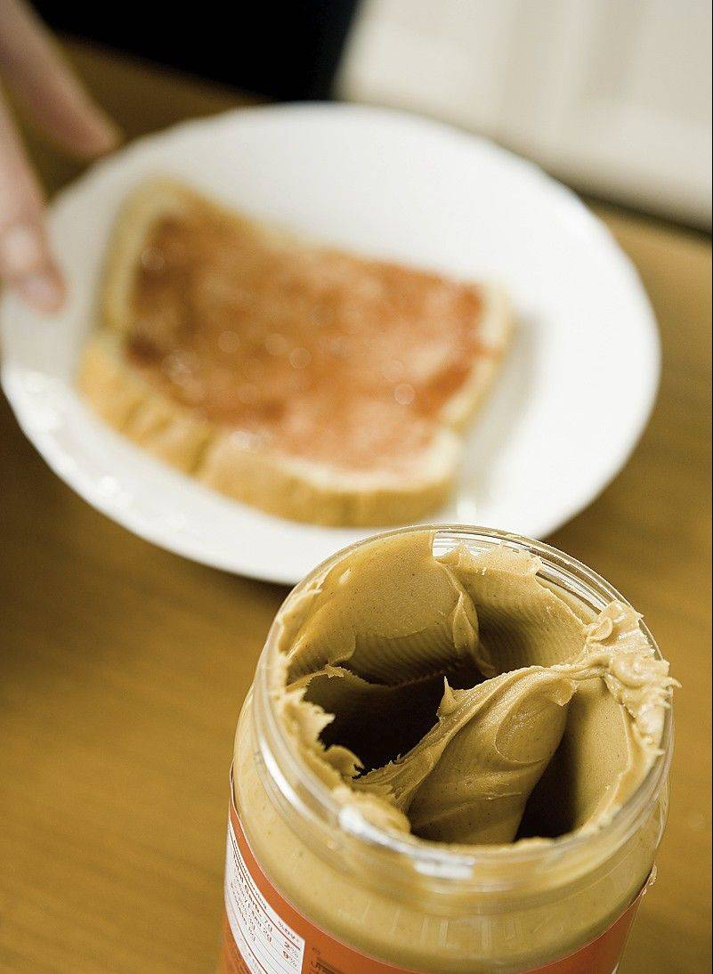 Eat peanut butter for breakfast and you'll feel less hungry the rest of the day.