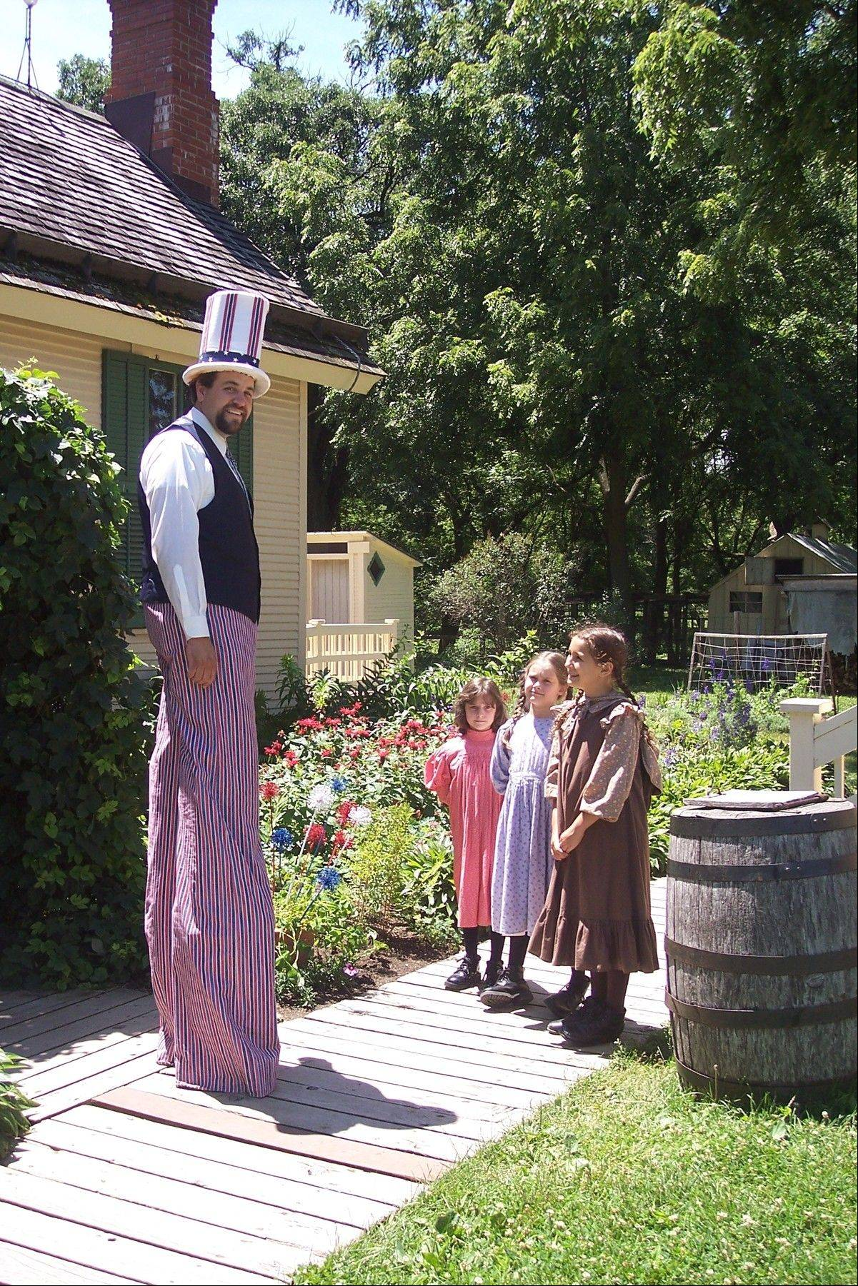 "Learn how Independence Day was celebrated in the 1800s at the ""Celebrating the Fourth"" event at Kline Creek Farm."