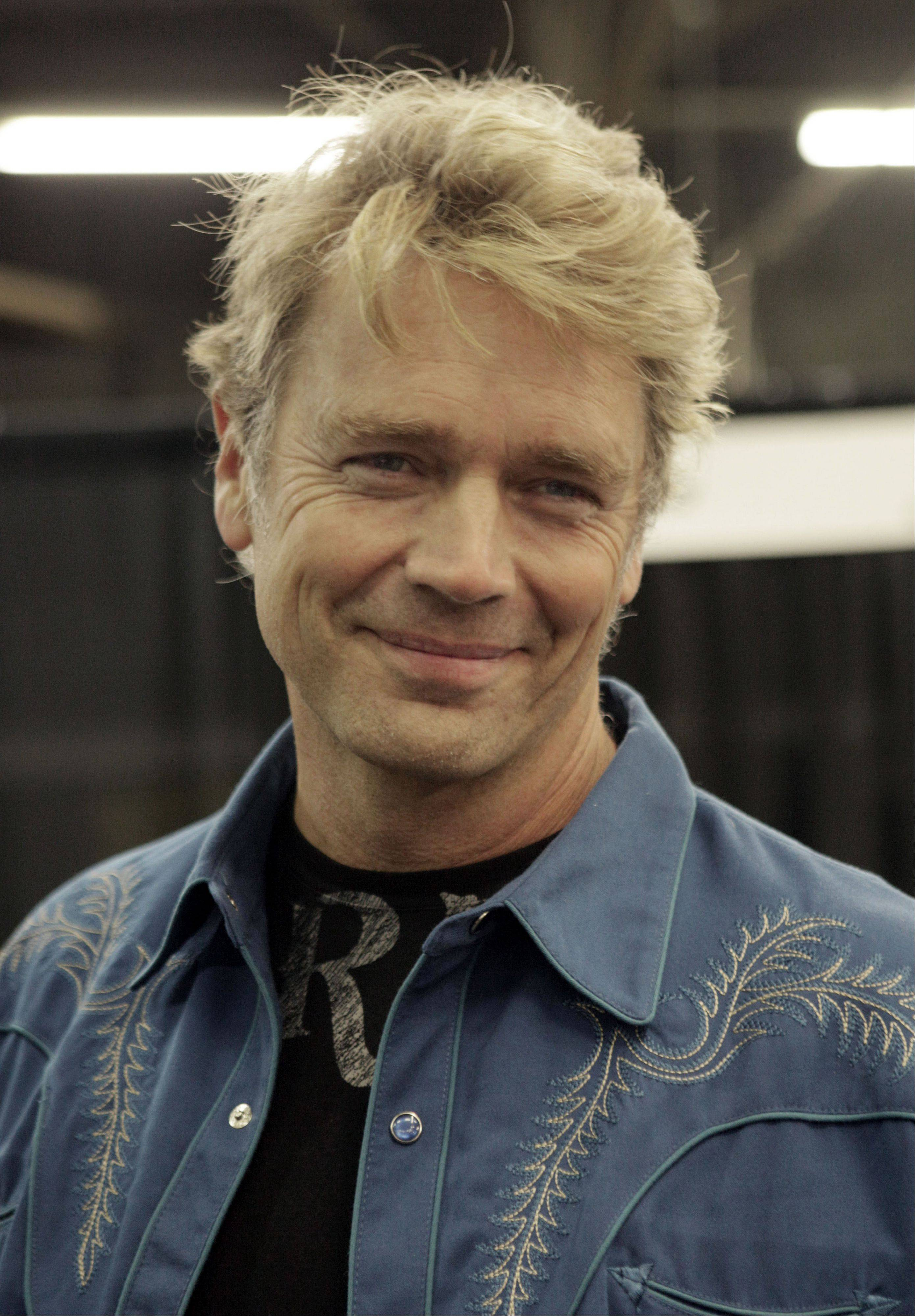 Actor John Schneider from the television series Dukes of Hazard.
