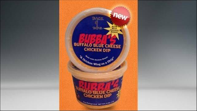 """BUBBA'S Buffalo Blue Cheese Chicken Dip"""