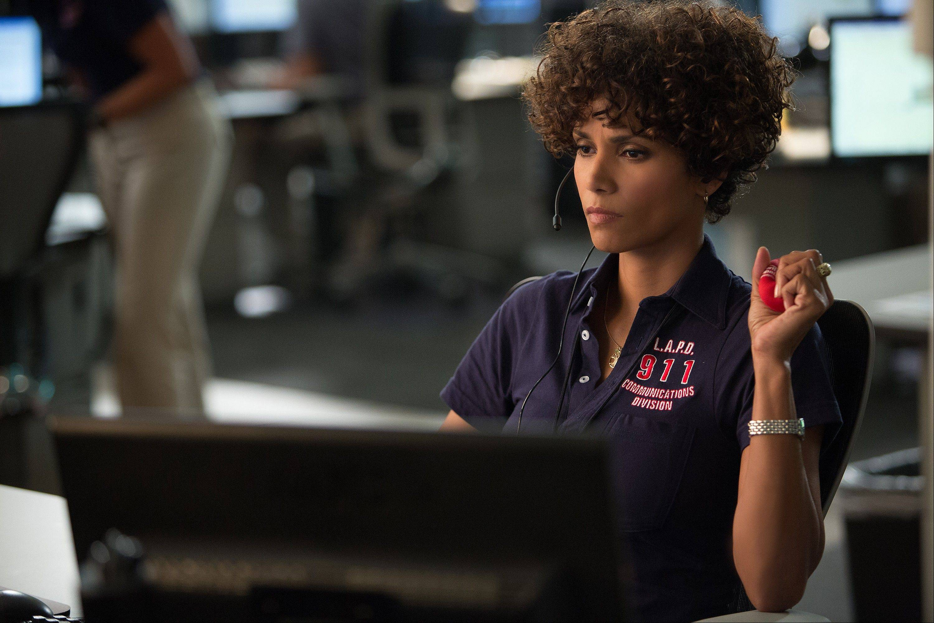 "A 911 operator (Halle Berry) plays cat and mouse with a serial killer in the thriller ""The Call."""