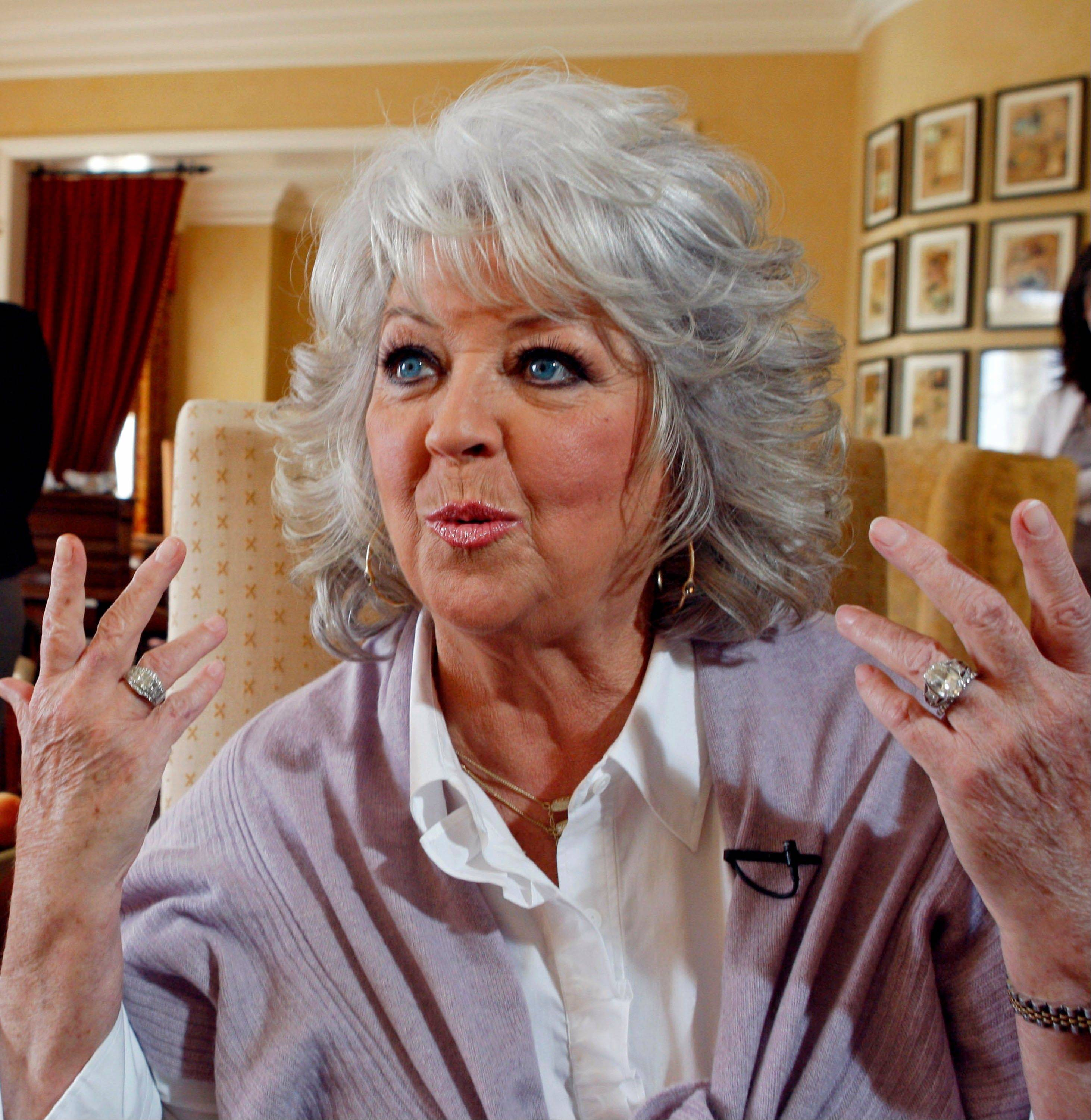 Paula Deen speaks in Pasadena, Calif.