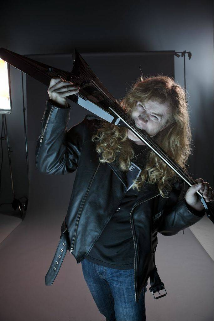 Dave Mustaine and Megadeth will play the Allstate Arena in Rosemont on Tuesday, July 9.