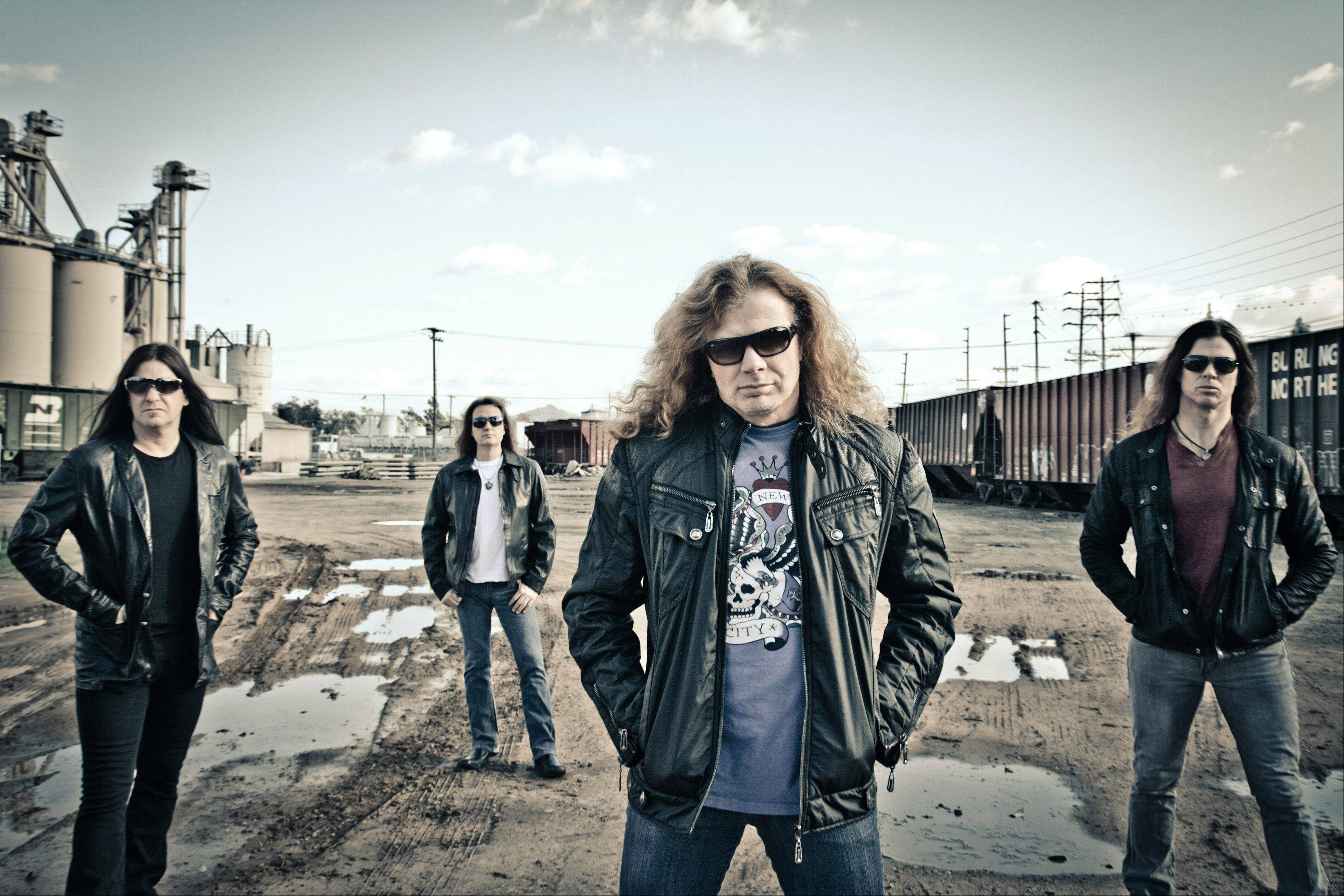 Megadeth performs July 9 when Gigantour stops at Allstate Arena in Rosemont. The concert also features Black Label Society, Device, Hellyea, Death Division and former Metallica bassist Jason Newsted's latest band, Newsted.
