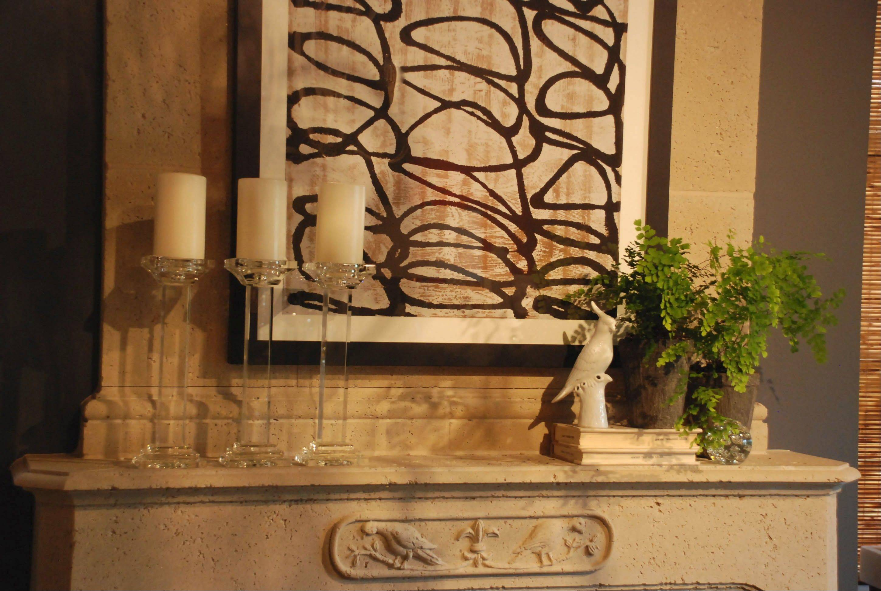 Your mantel display is the eye-catching focal point of the room, so trick it up for the season.
