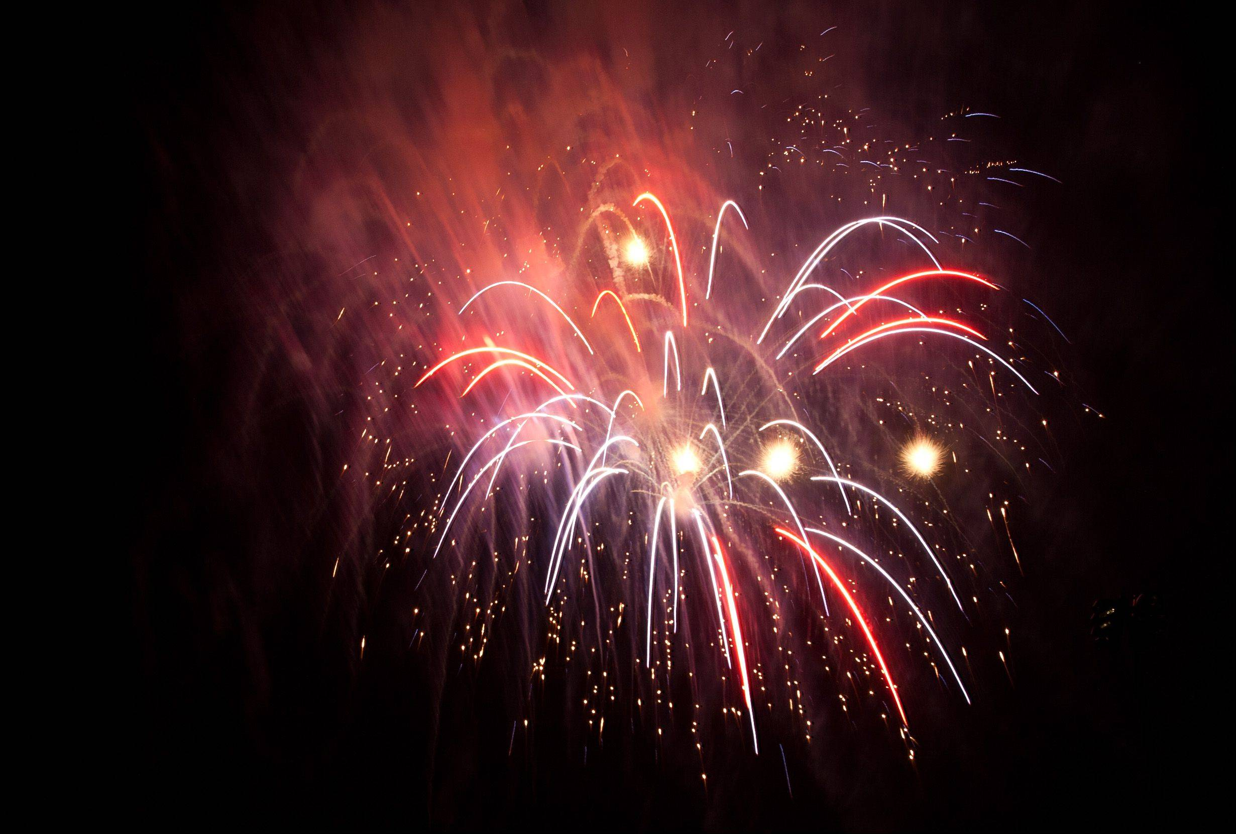 The annual Naperville fireworks show begins at 9:30 p.m. Thursday, July 4, in Knoch Park.