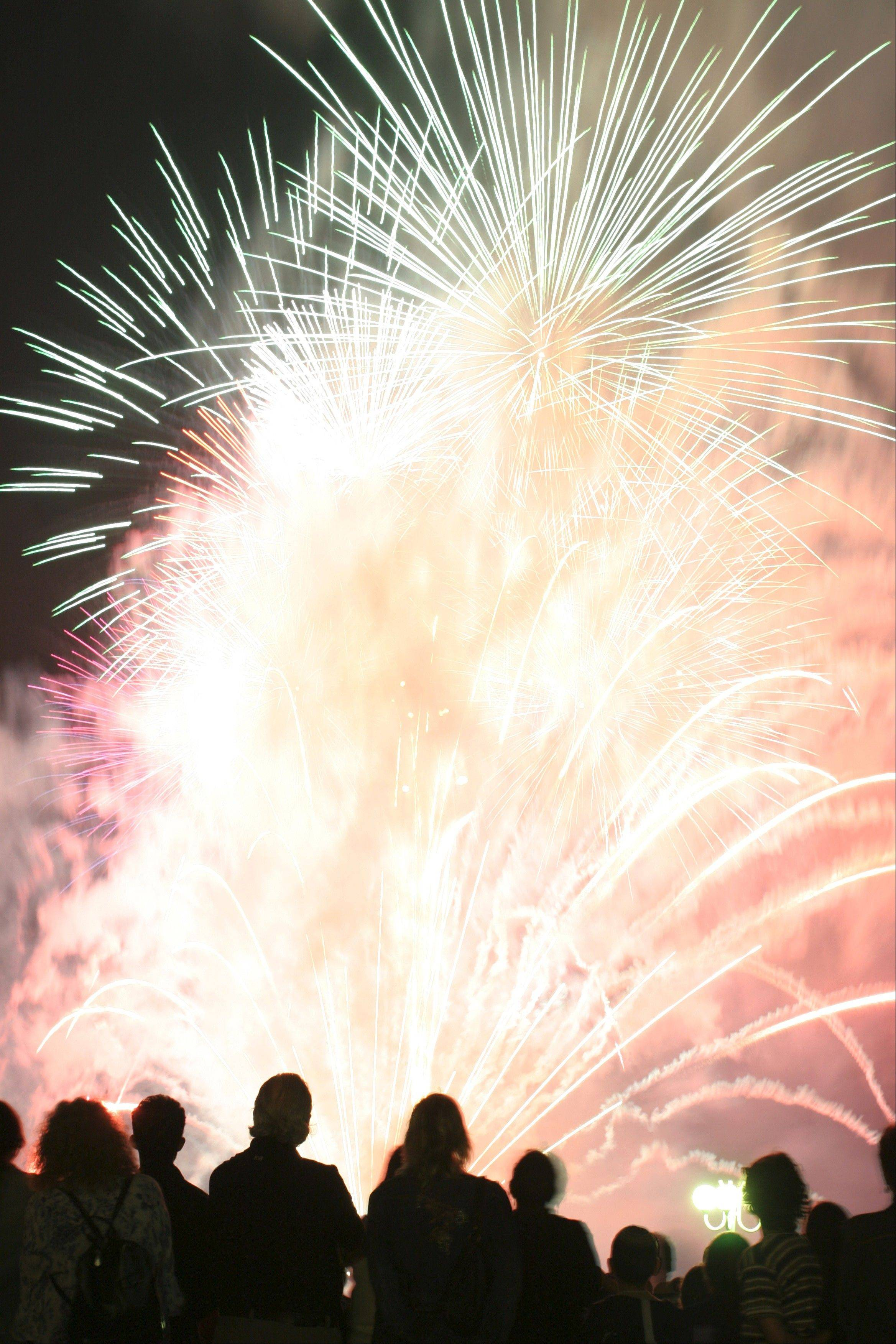 Fireworks fans will be in their element in the coming days as Independence Day fireworks light up the local skies.