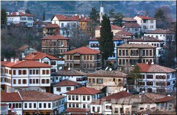 This is typical architecture in the Turkish city of Safranbolu, which is seeking a Sister Cities partnership with Schaumburg.