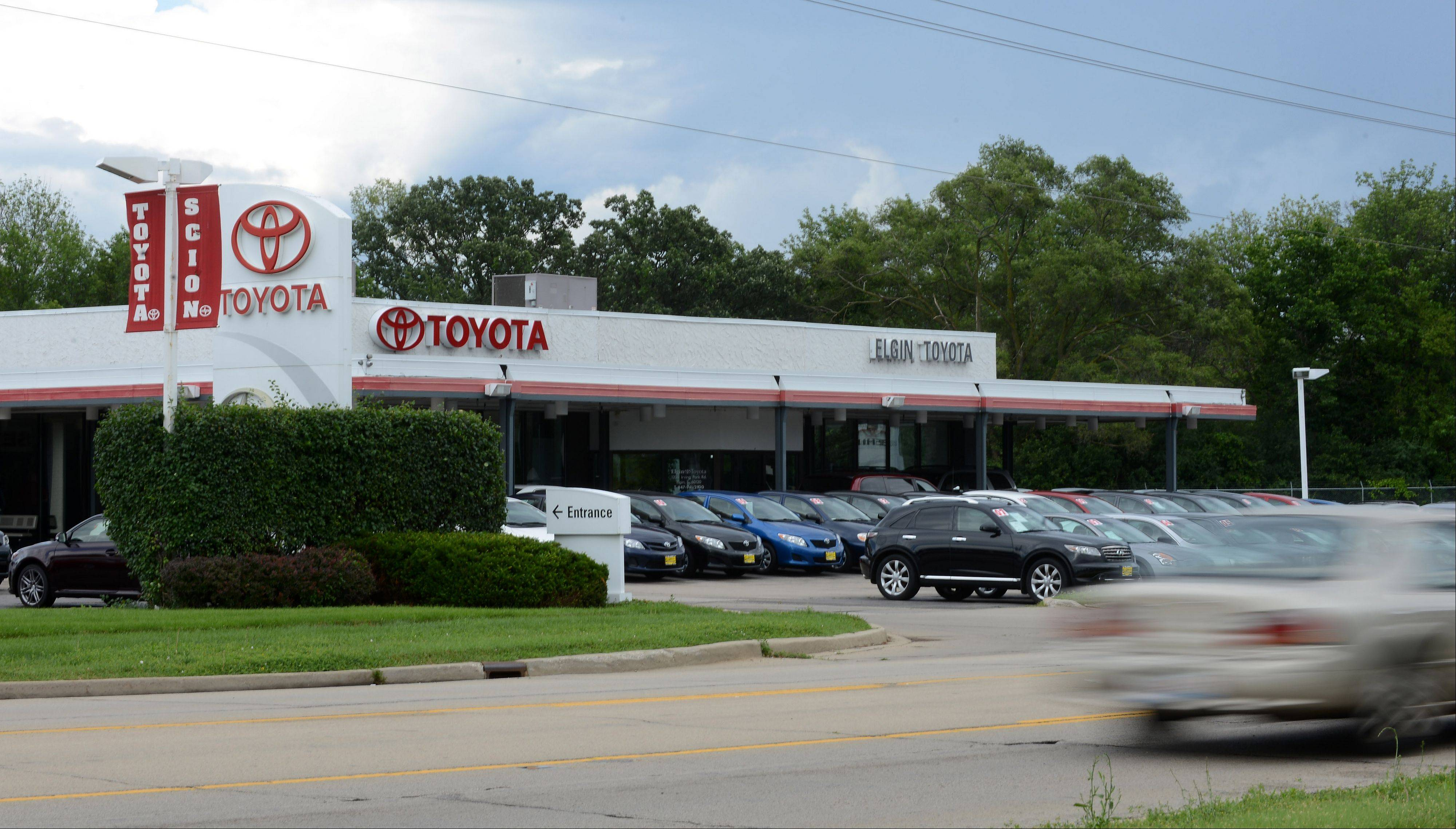 Elgin Toyota plans to relocate to Streamwood within the next year.