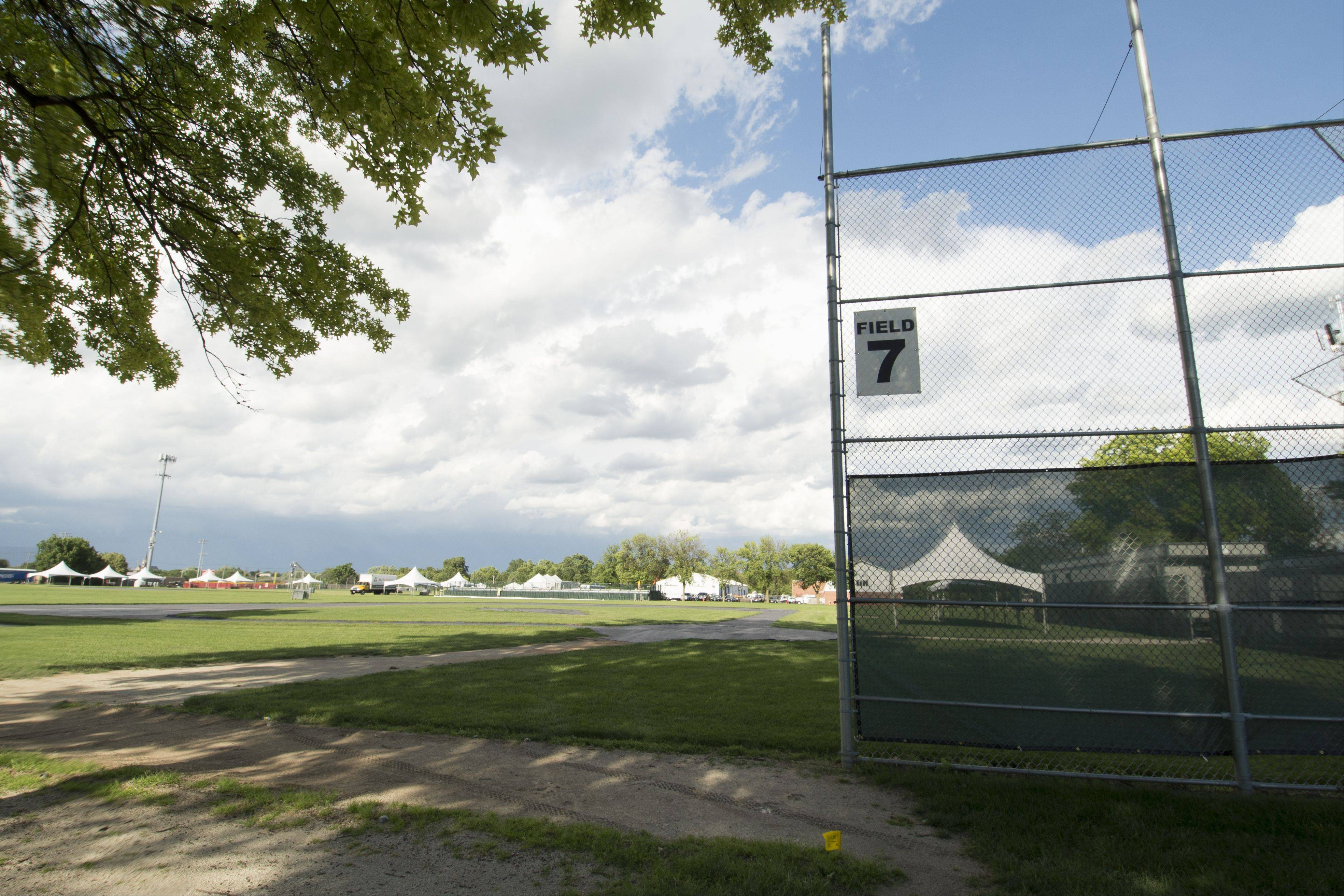 Four ball fields at Knoch Park North will receive improvements including accessible paths for people with disabilities and new backstops during a $600,000 project the Naperville Park District is beginning in mid-July.