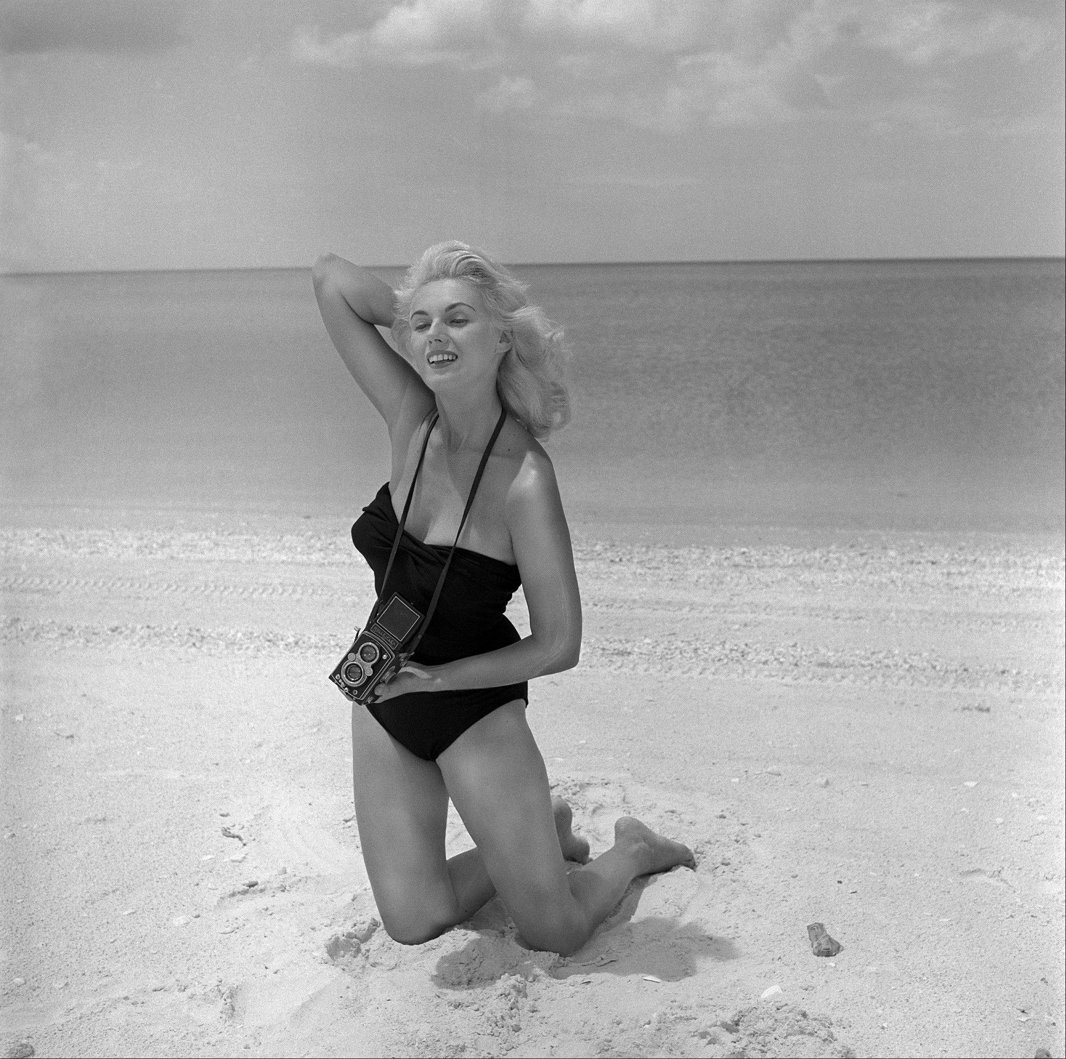 Bunny Yeager was a model who become a pinup photographer in the 50s and 60s.