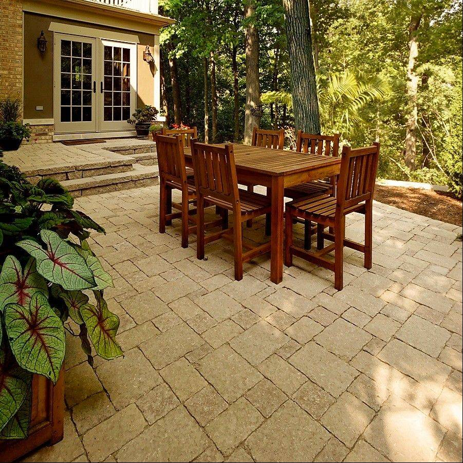 RYCO Landscaping offers a variety of choices in patio materials.